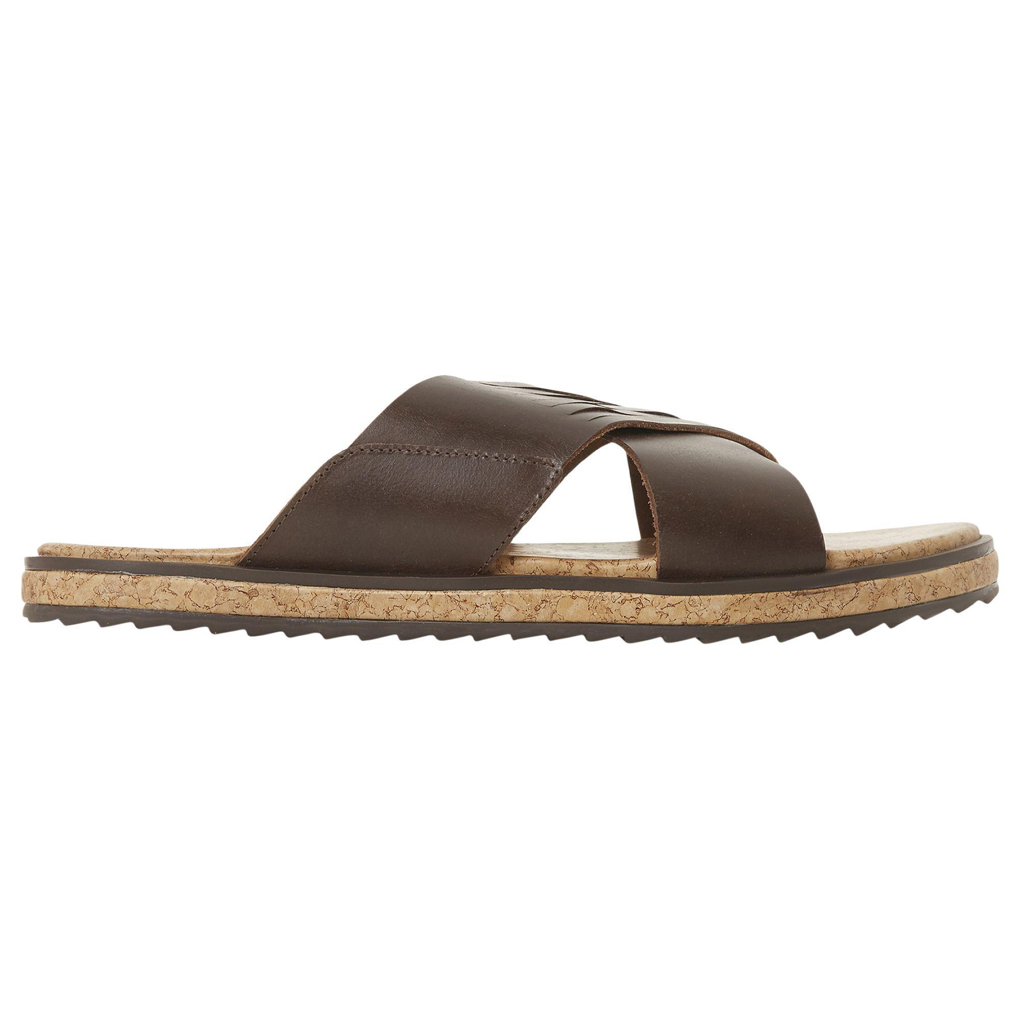 06a567f1d5103a Bertie Iric Cross Strap Sandals in Brown - Lyst