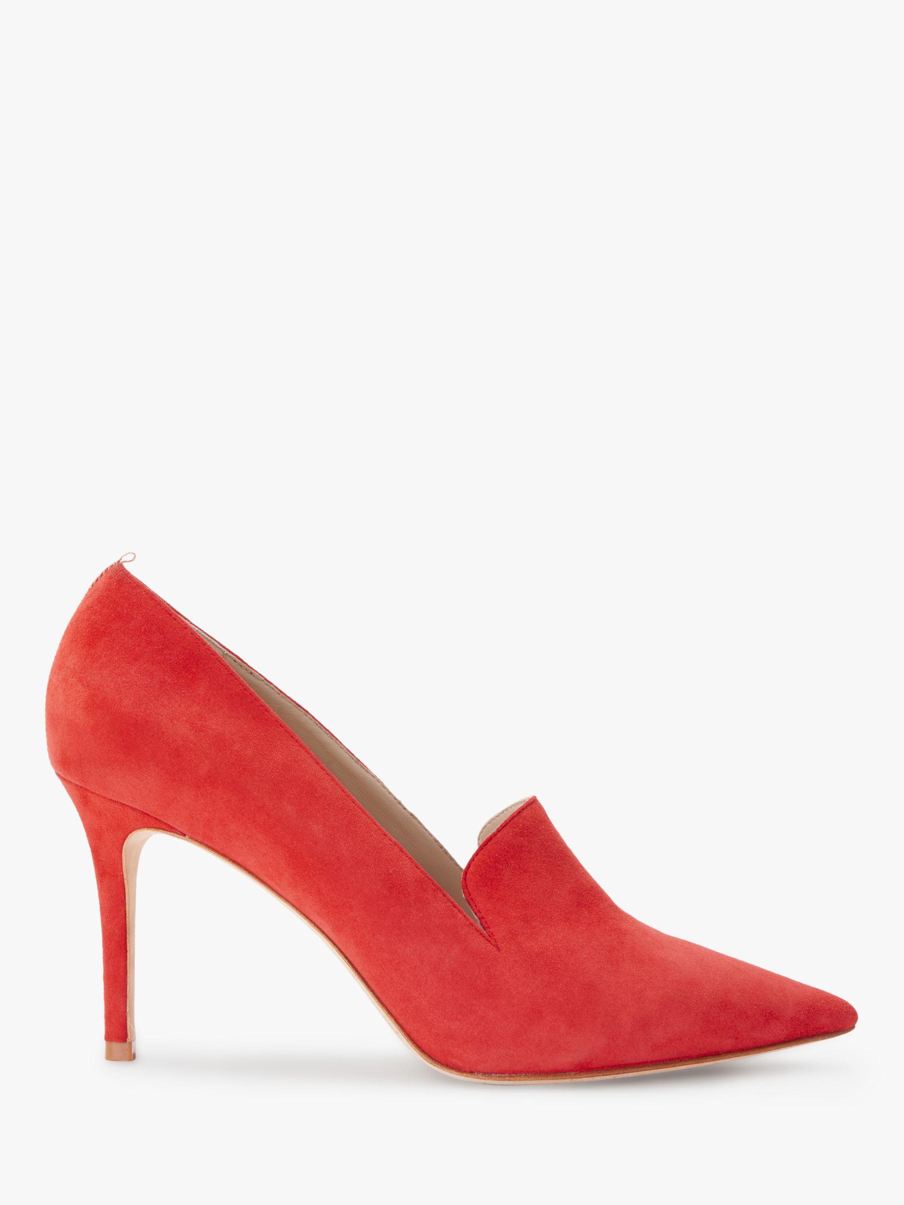 af98aaf6513 Boden Millie Suede Slipper Stiletto Heel Shoes in Red - Lyst