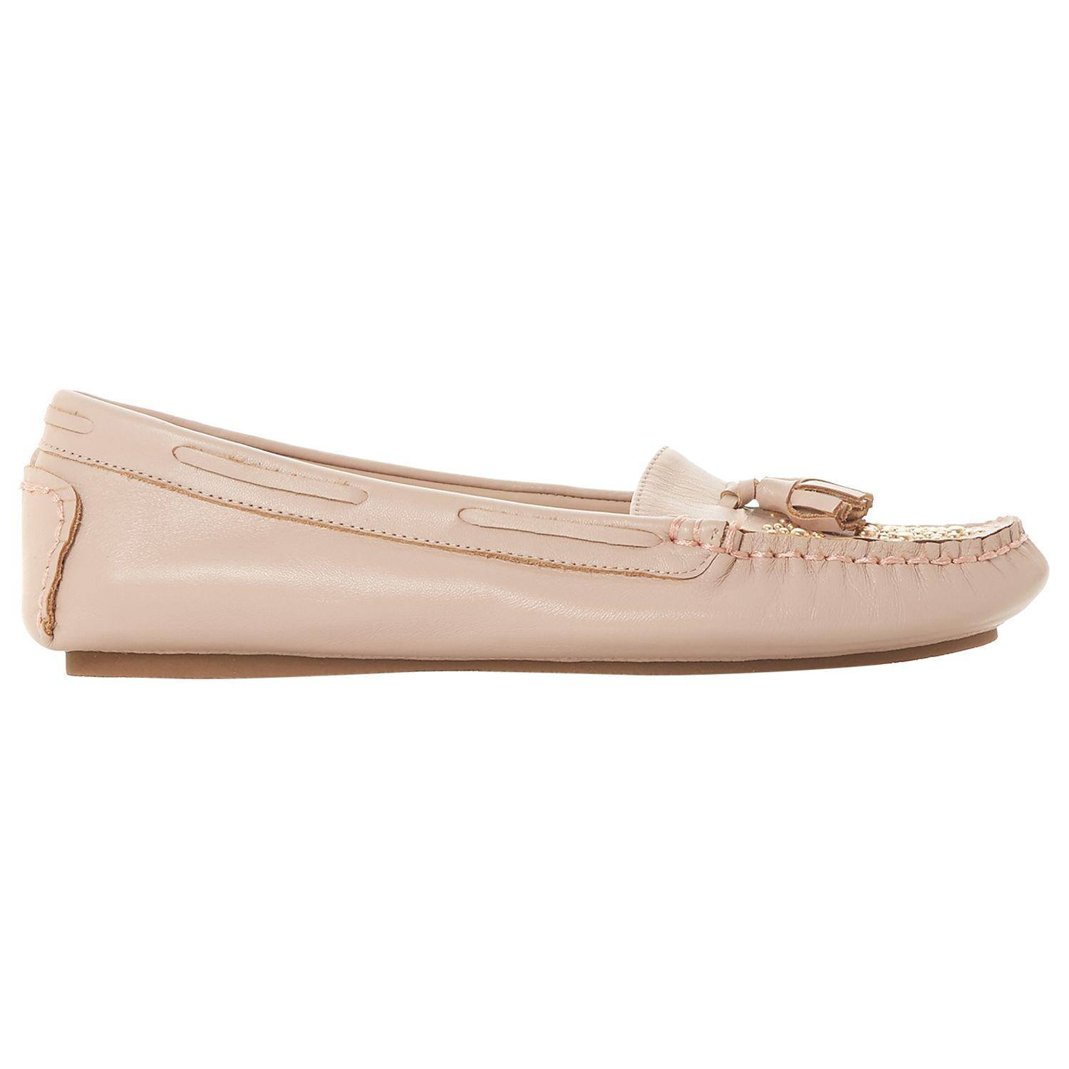 22509765c35 Dune Greatful Embellished Loafers in Pink - Lyst