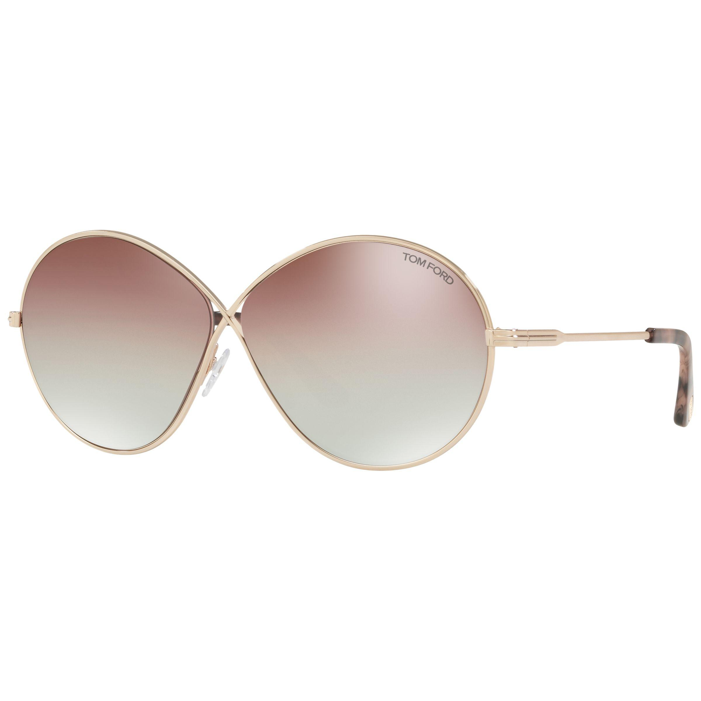 79c8f1dfcc2d2 Tom Ford - Multicolor Ft0564 Rania-02 Oval Sunglasses - Lyst. View  fullscreen