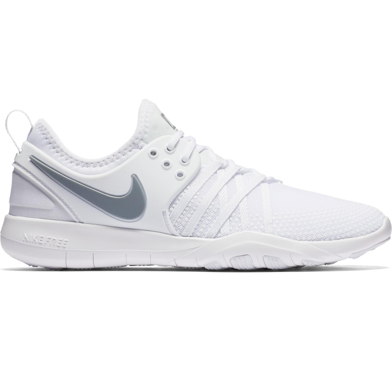 08dce3a9cdd30 Nike Free Tr 7 Women s Cross Trainers in White - Lyst