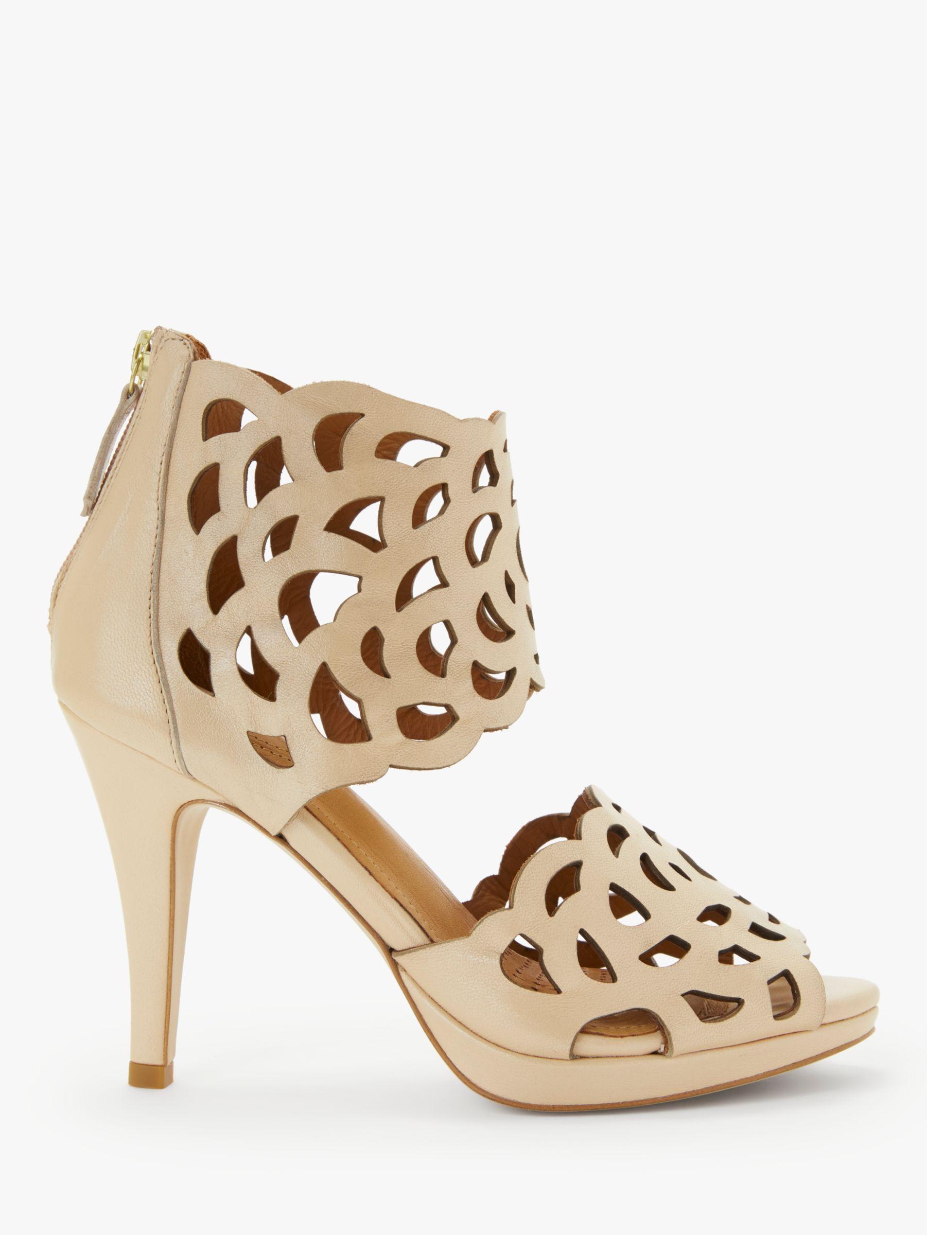 9234196955d04d Sargossa Inspire Heeled Sandals in Natural - Lyst