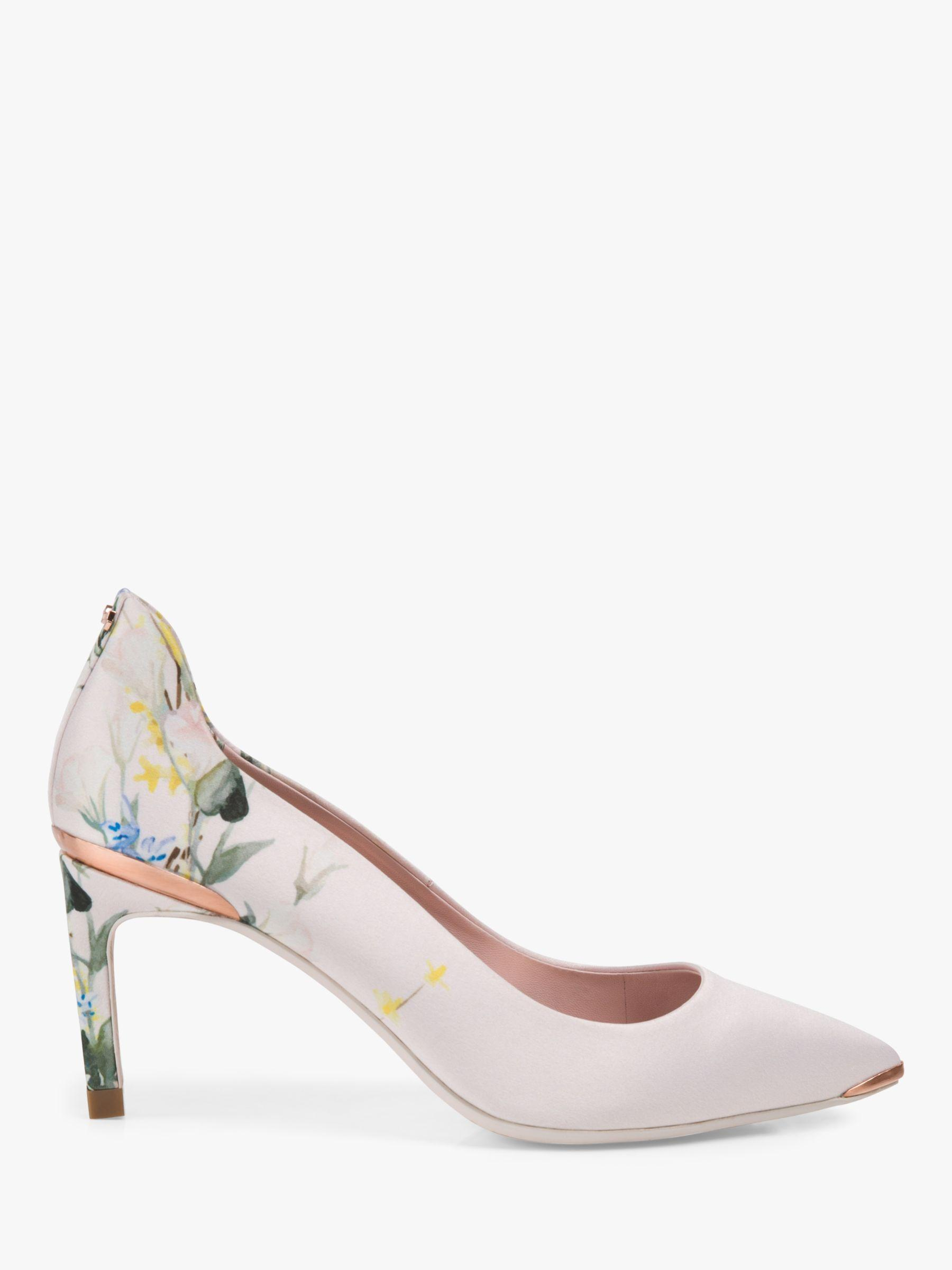 23fb4ad12 Ted Baker Printed High Heel Courts in Pink - Save 20% - Lyst