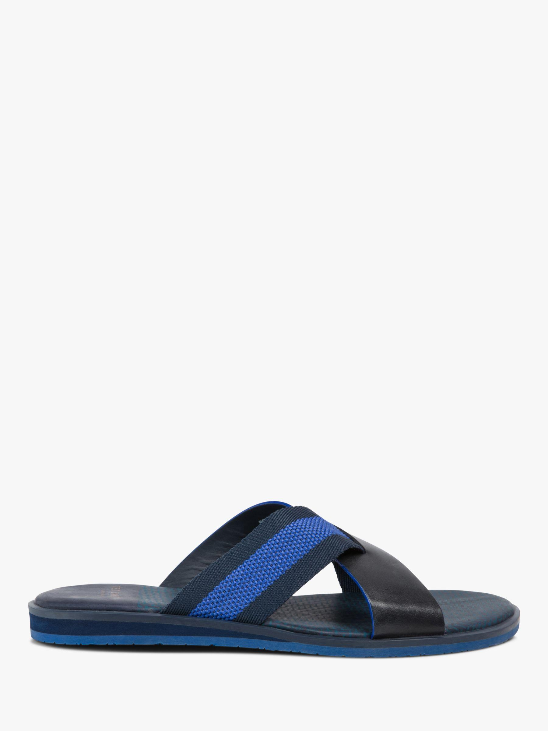 549deffa4 Ted Baker Bowdus Sandals in Blue for Men - Lyst