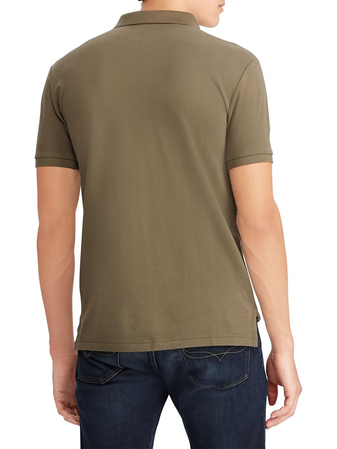 3d4845194 Ralph Lauren Polo Slim Fit Stretch Mesh Polo Shirt in Green for Men - Lyst