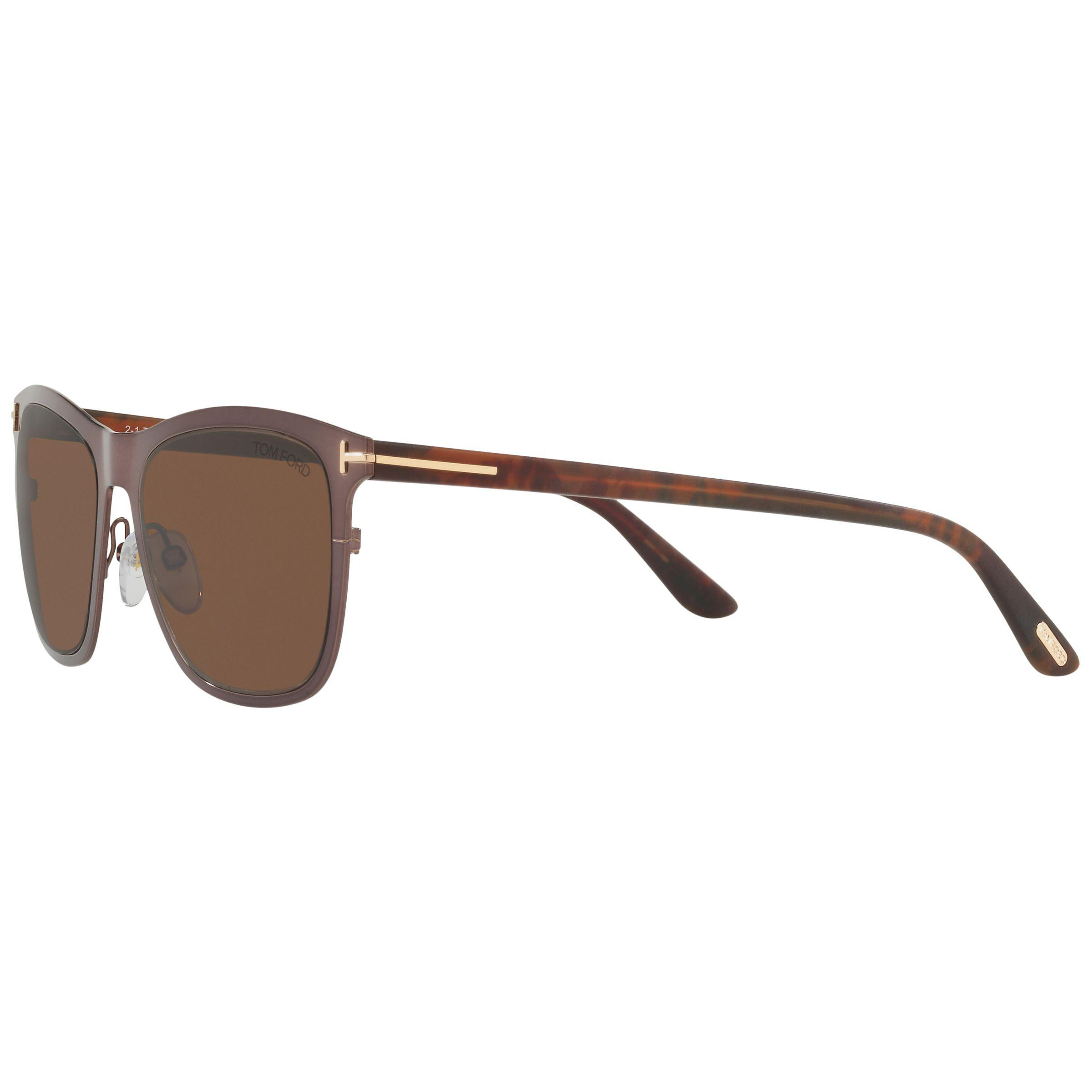 11db36bbfbd66 Tom Ford Ft0526 Alasdhair Square Sunglasses in Brown for Men - Lyst