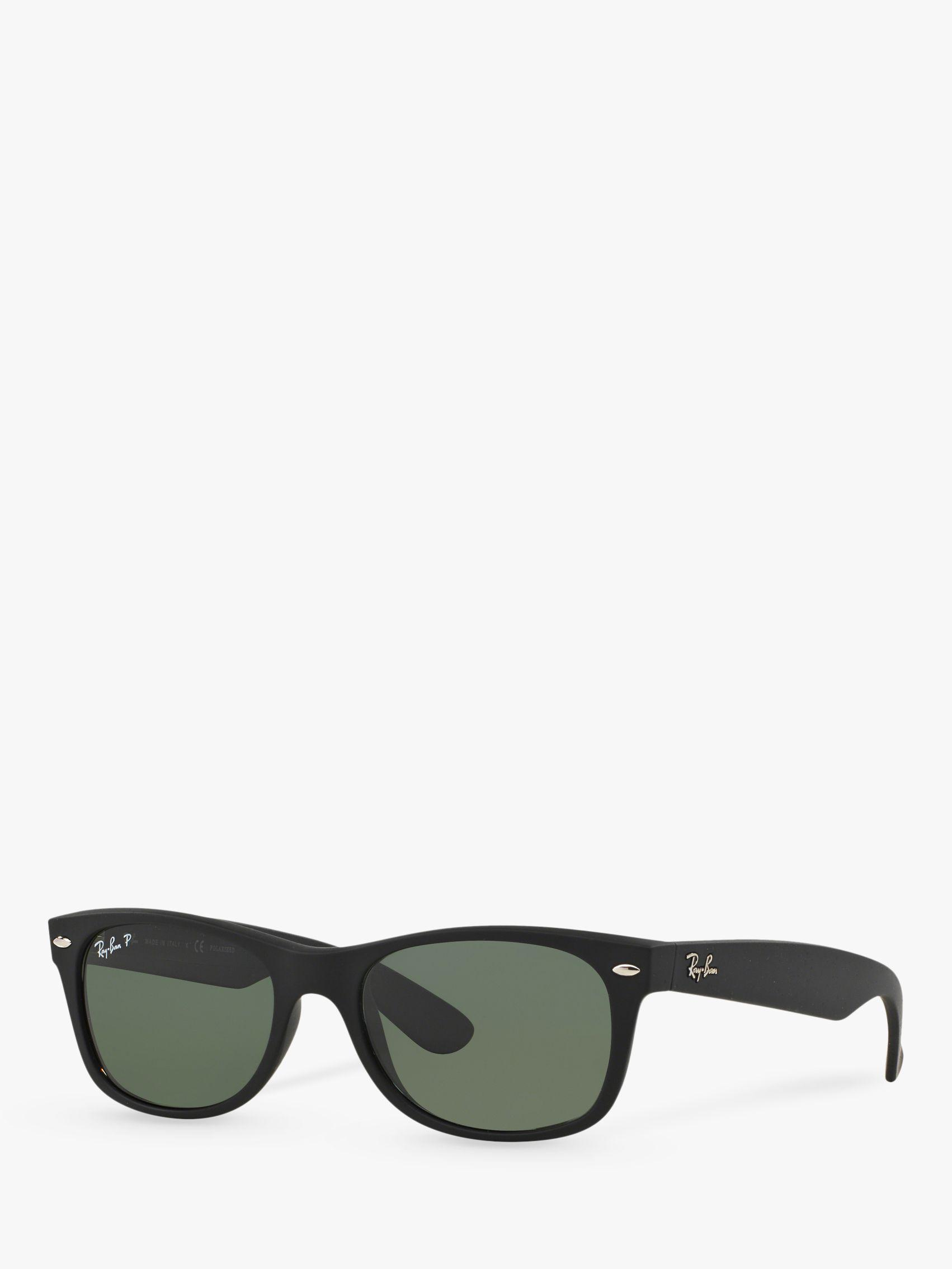 cad7c24bf05 Ray-Ban Rb2132 Men s New Wayfarer Polarised Sunglasses in Black for ...
