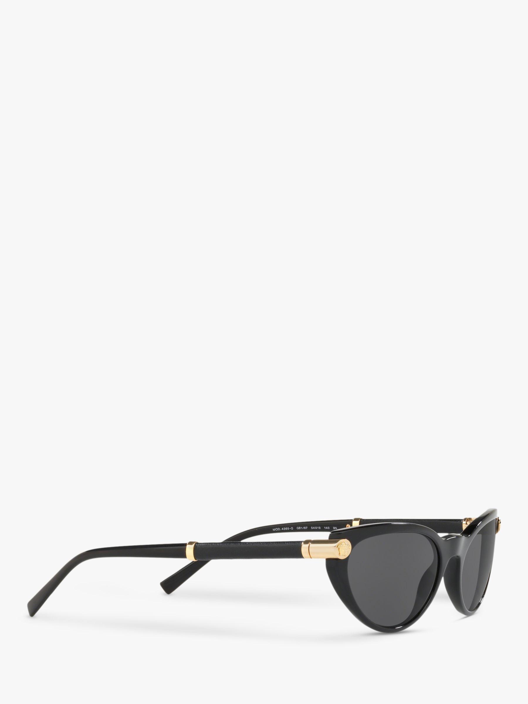 90510546823 Versace - Black Ve4365q Women s Cat s Eye Sunglasses - Lyst. View fullscreen