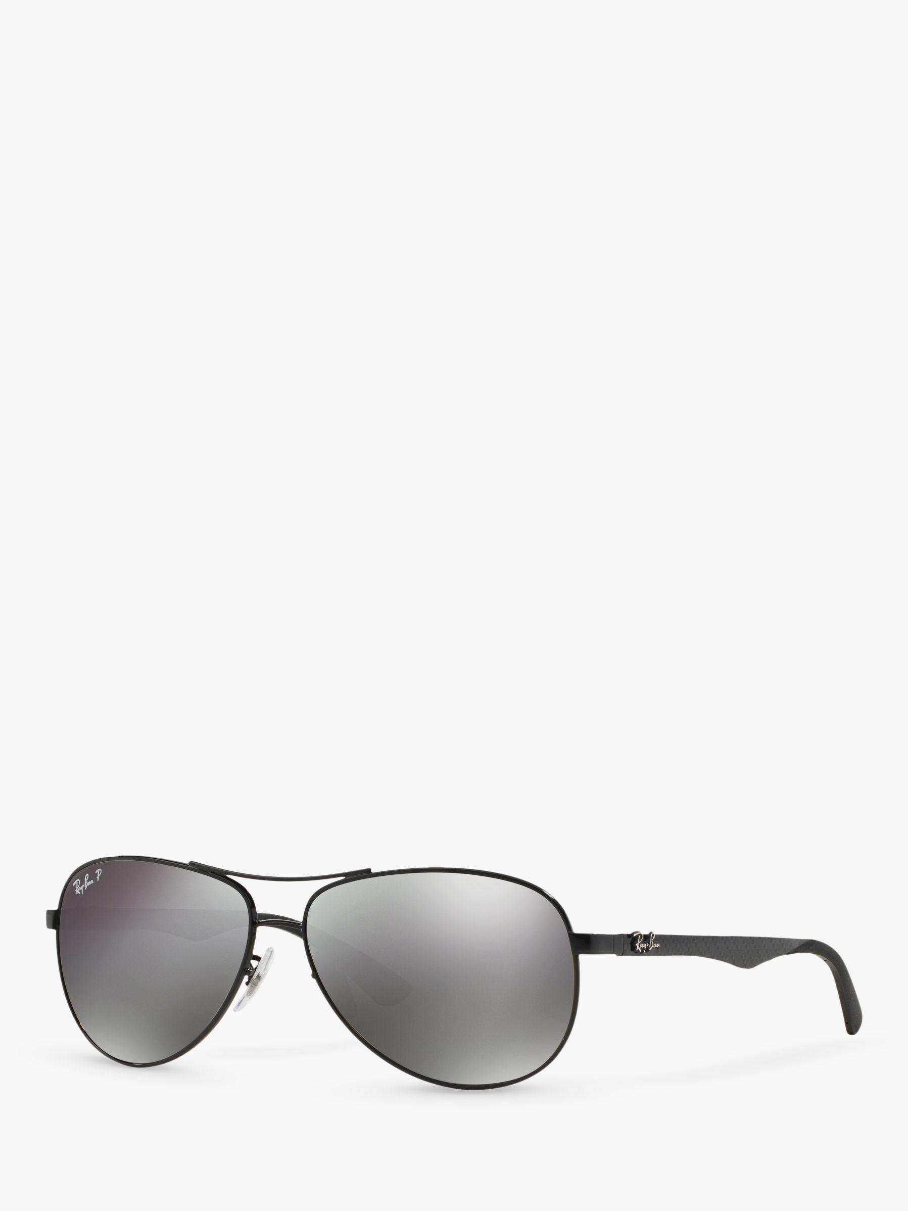 2cd4028a2b Ray-Ban. Men s Black Rb8313 Polarised Aviator Sunglasses. £235 From John  Lewis ...