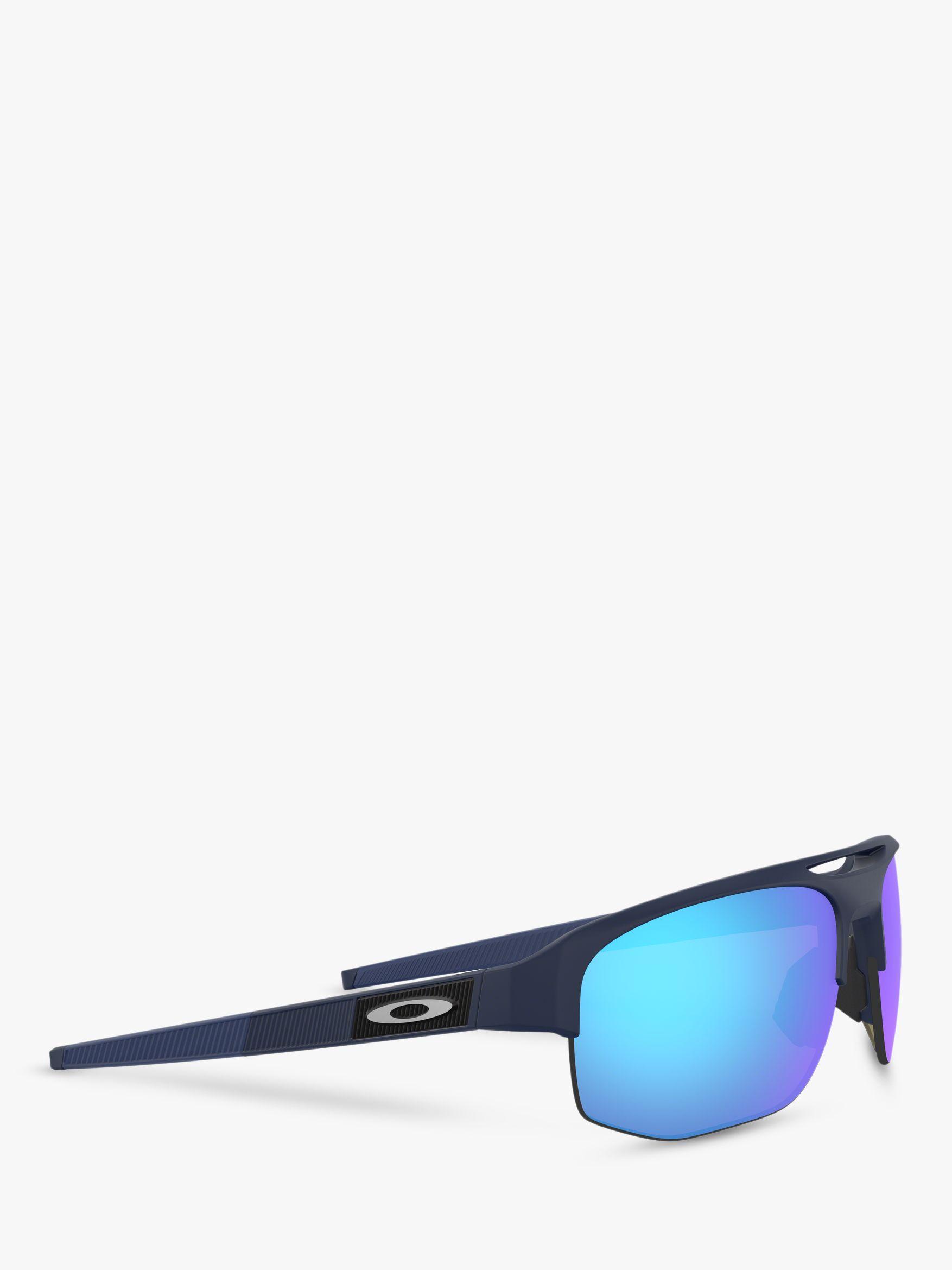 c70f8087ee429 Oakley - Blue Oo9424 Men s Mercenary Prizm Polarised Rectangular Sunglasses  for Men - Lyst. View fullscreen