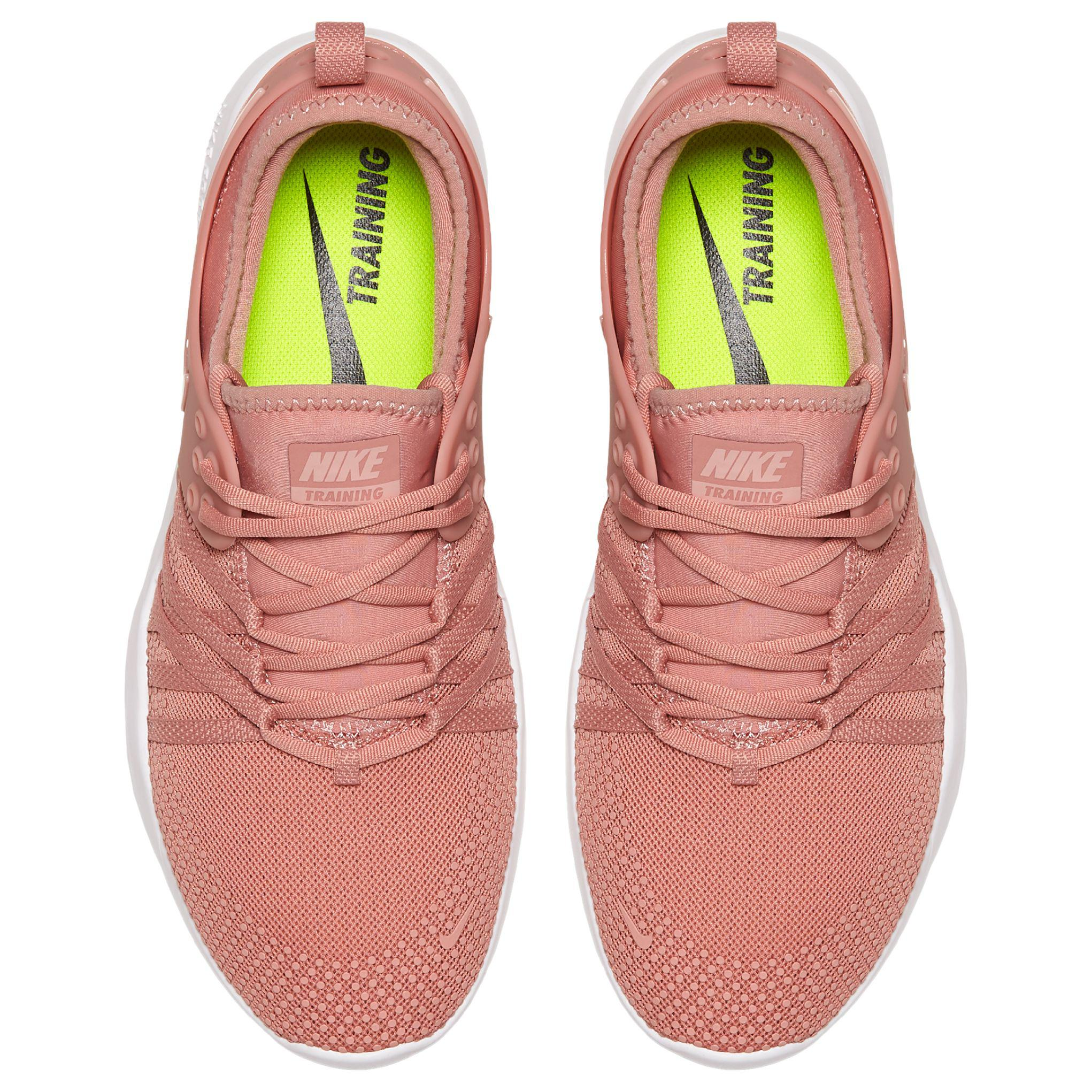 9c839519aac0 ... cheapest nike pink free tr 7 womens training shoes lyst. view  fullscreen 46a75 65c27