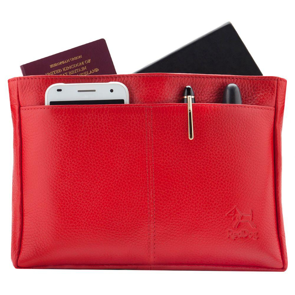 f780f26f3ce75 Reddog Voyager Leather Bagpod Organiser in Red - Lyst