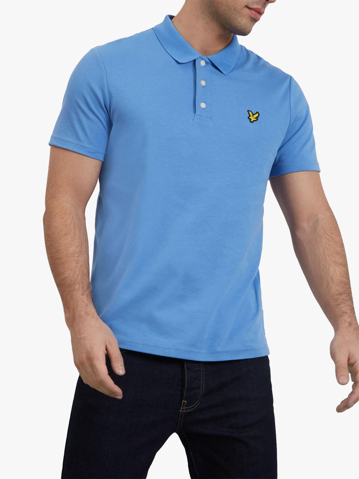 0ee8ec554ca Lyle   Scott Soft To Touch Polo Shirt in Blue for Men - Lyst