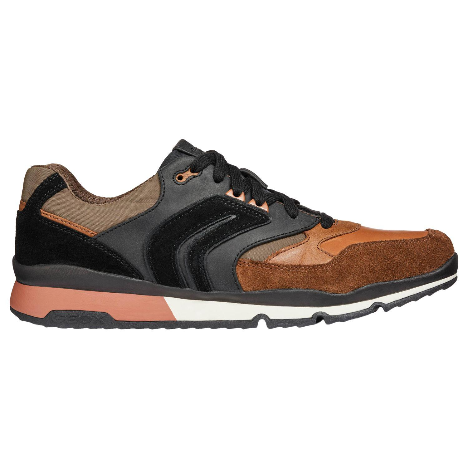 cb7902a0953 Geox. Men's Orange Sandford Trainers. £110 £77 From John Lewis and Partners