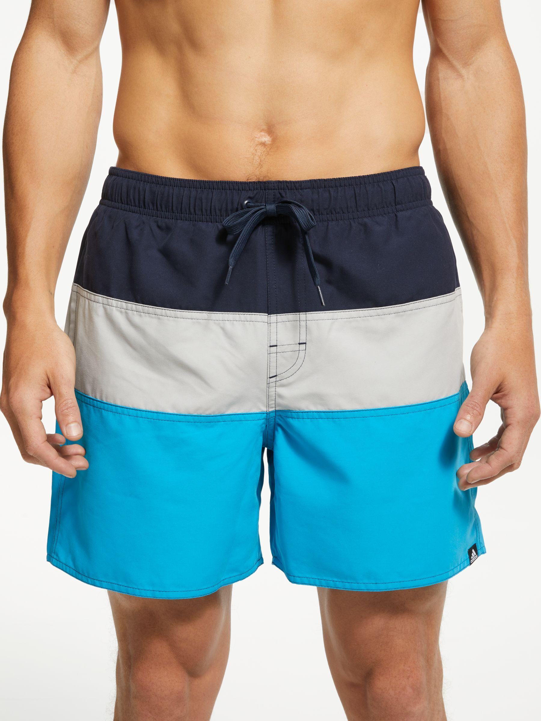 1bfad05f4d adidas Colour Block Swim Shorts in Blue for Men - Lyst