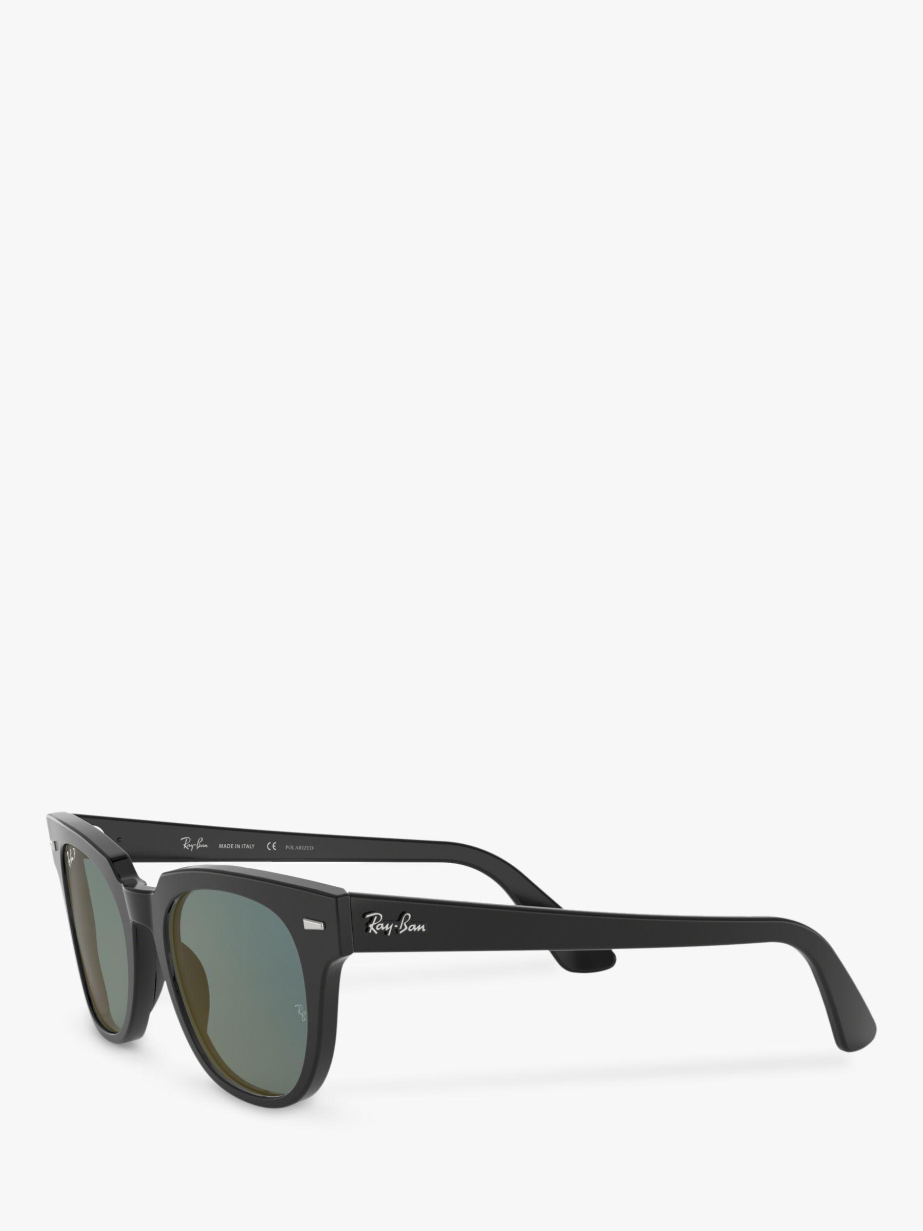 72e18378e5 Ray-Ban Rb2168 Unisex Polarised Square Sunglasses in Black for Men ...
