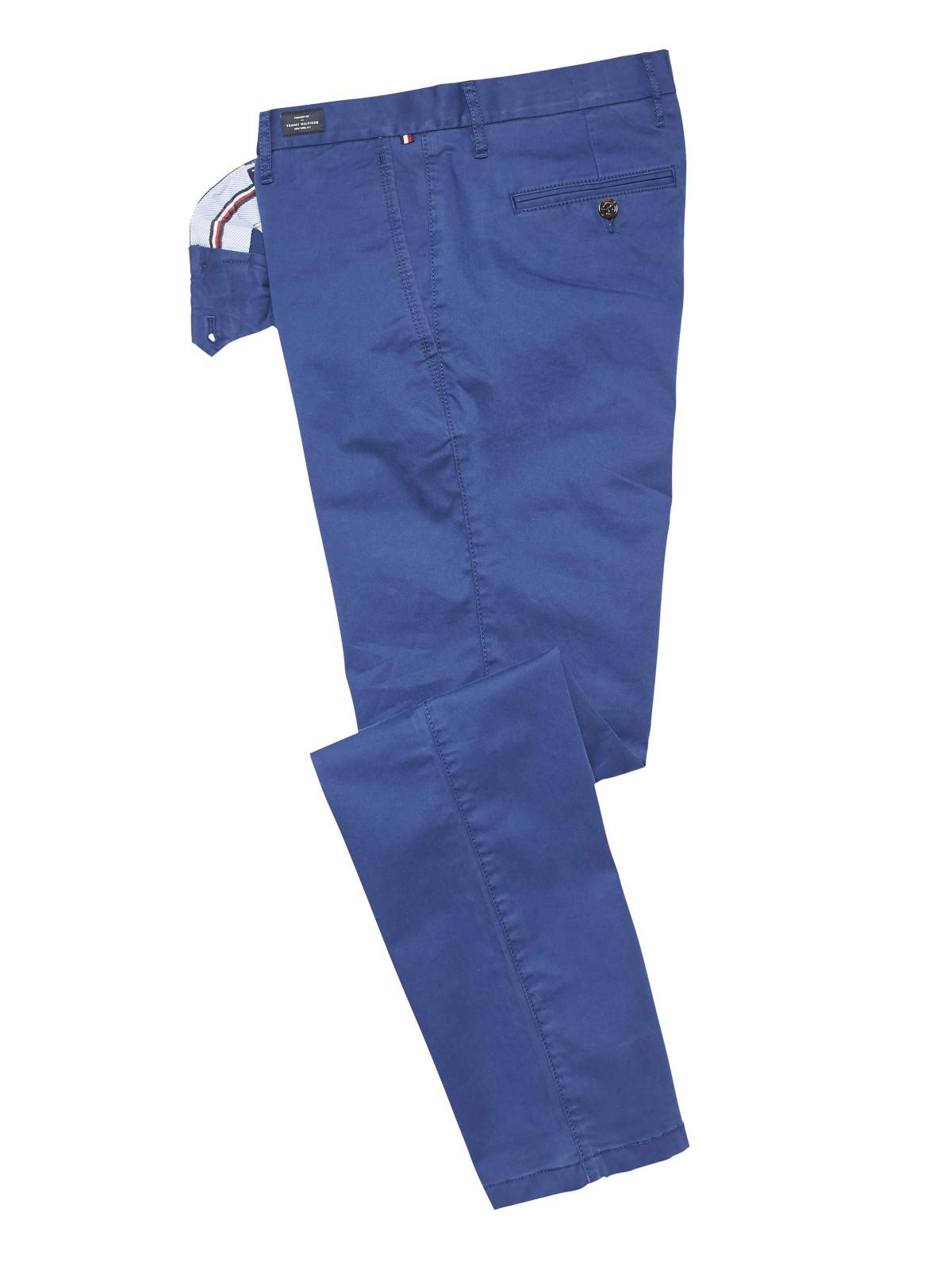 547029805d26d Tommy Hilfiger Denton Organic Straight Twirl Chinos in Blue for Men ...