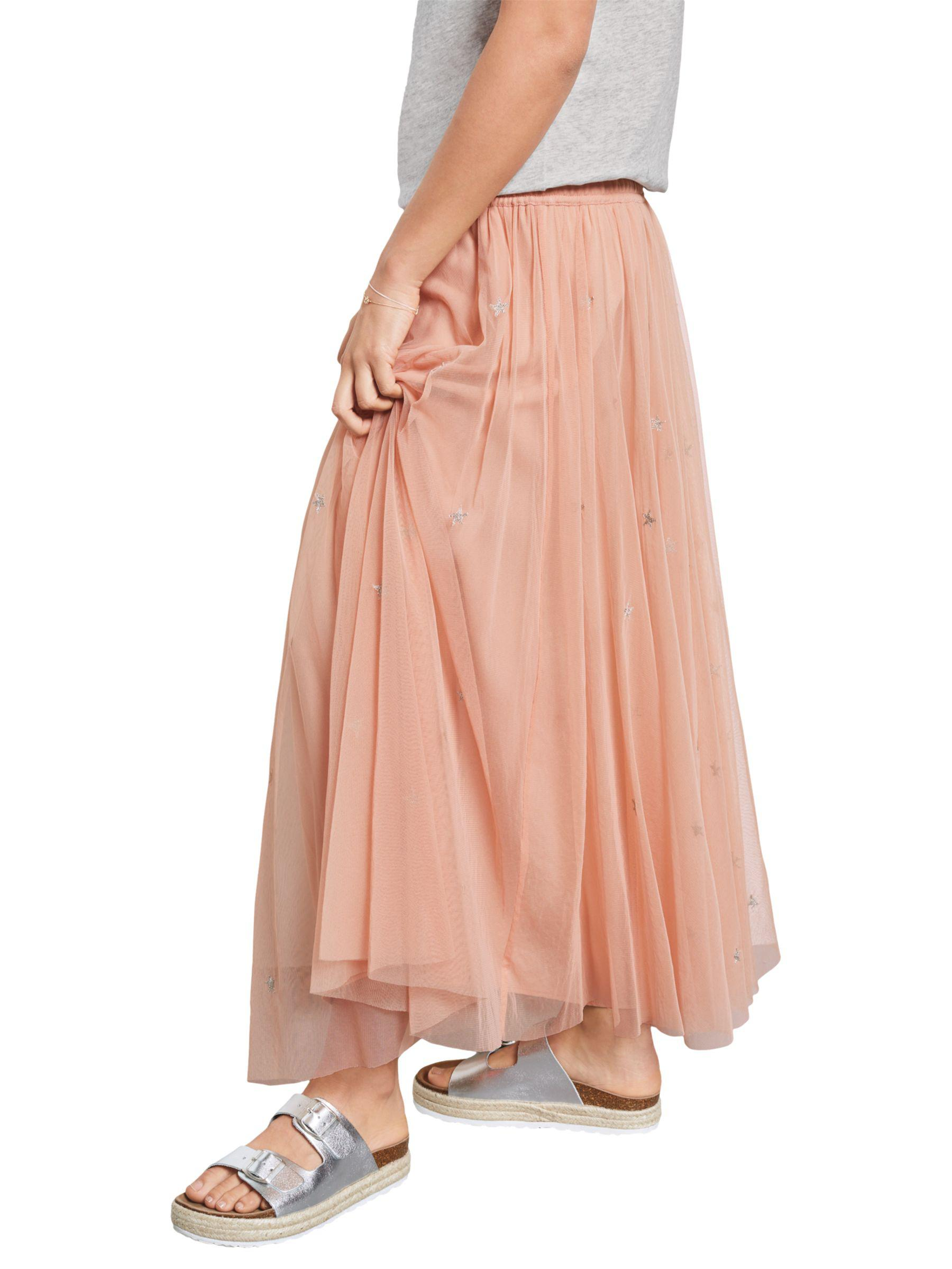 254c8dad7087 John Lewis Hush Star Embroidered Skirt in Pink - Lyst
