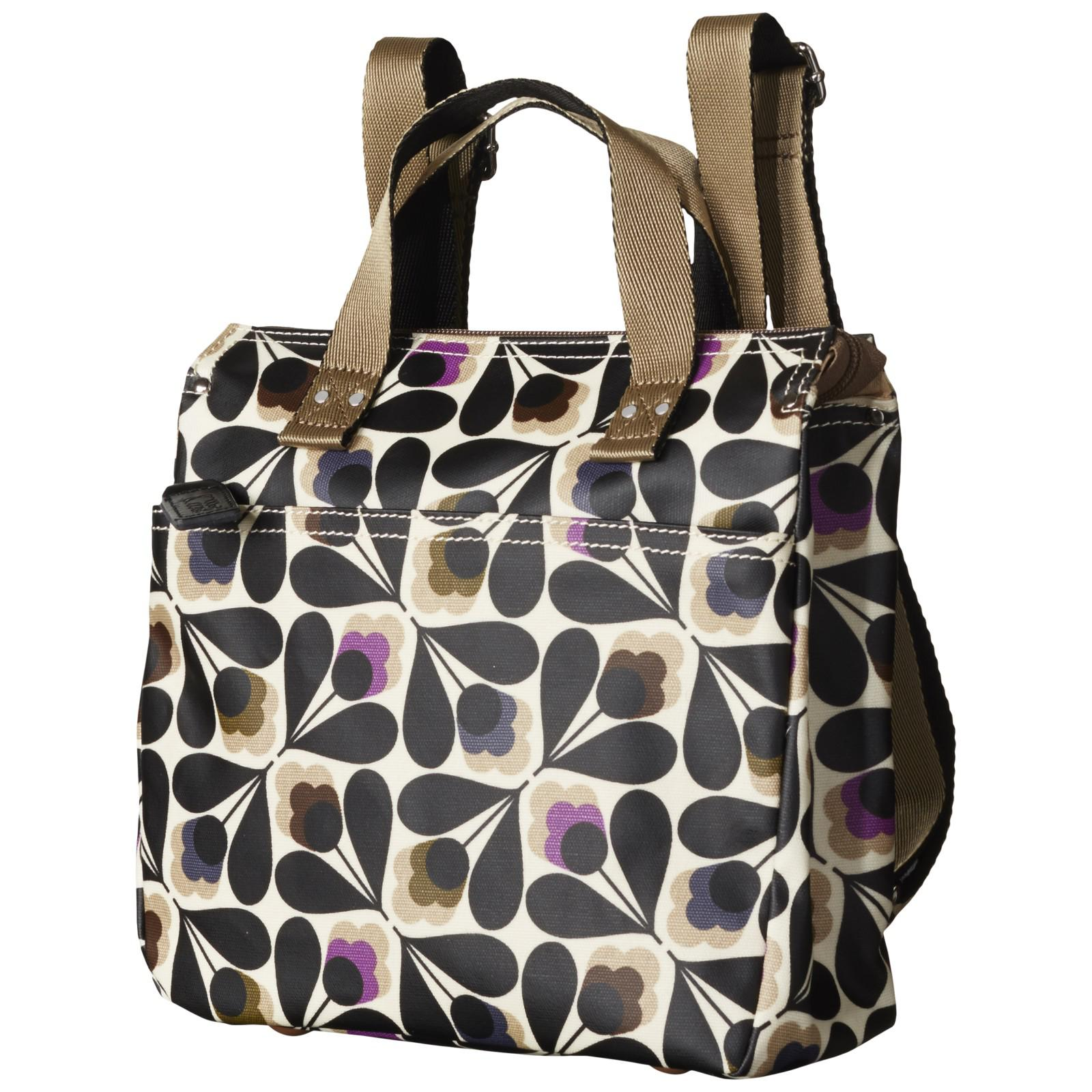4e73f52ffe0a Orla Kiely Matte Laminated Sycamore Seed Backpack - Lyst