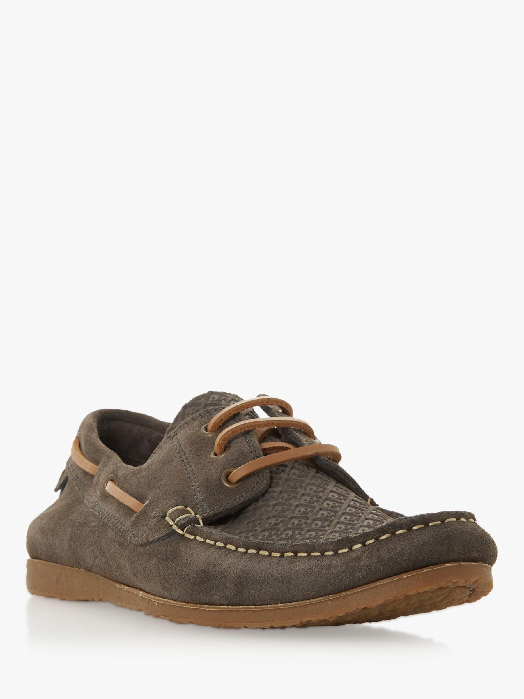 4e6648595 Bertie Bahamas Suede Boat Shoes in Gray for Men - Save 54% - Lyst
