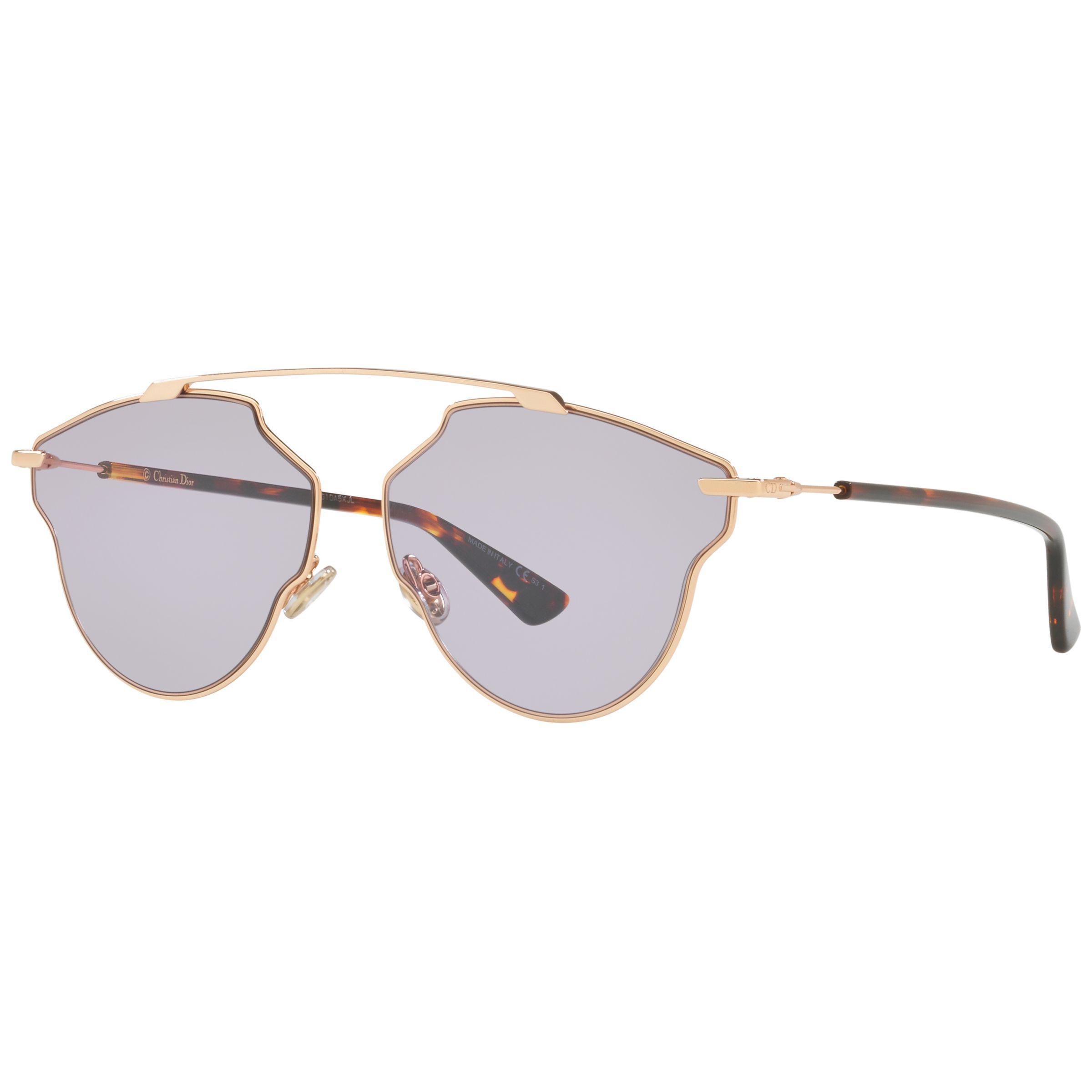 aef2775b14fb Dior. Women's Metallic Sorealpop Aviator Sunglasses. £309 From John Lewis  and Partners