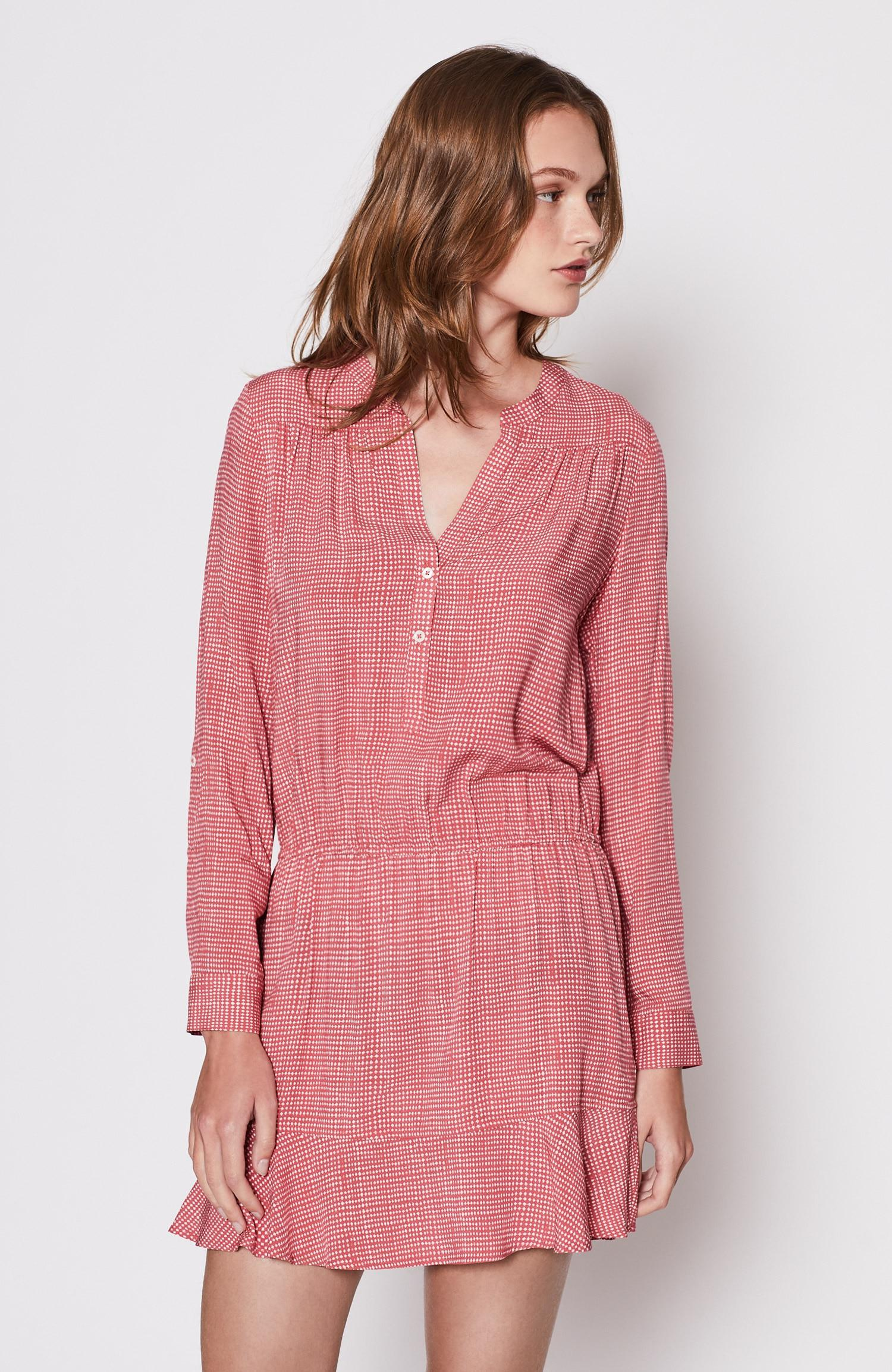 f7e467d172f37 Lyst - Joie Acey Dress in Pink