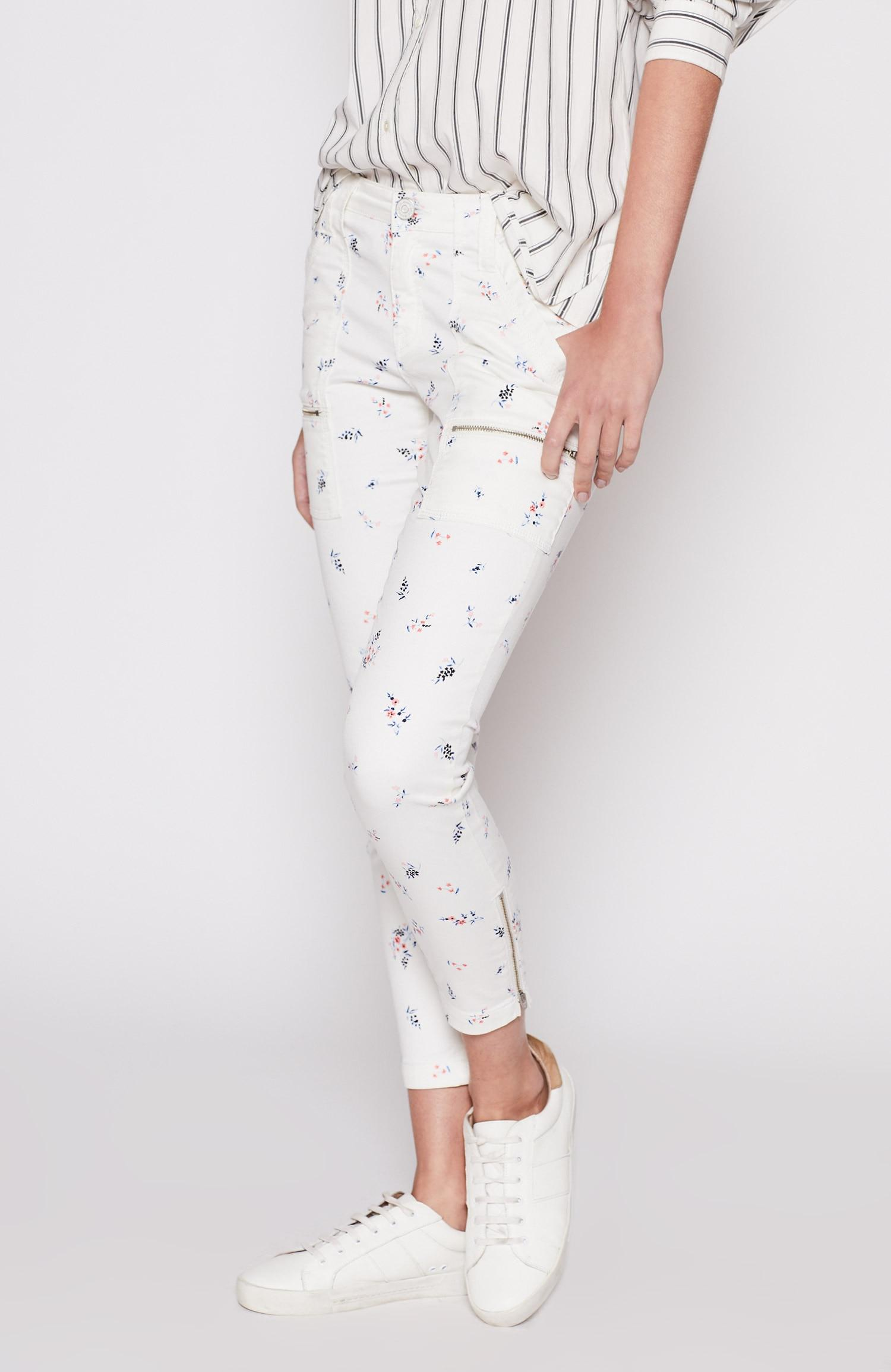 7ff876d5d05e Lyst - Joie Park Skinny Pant in White