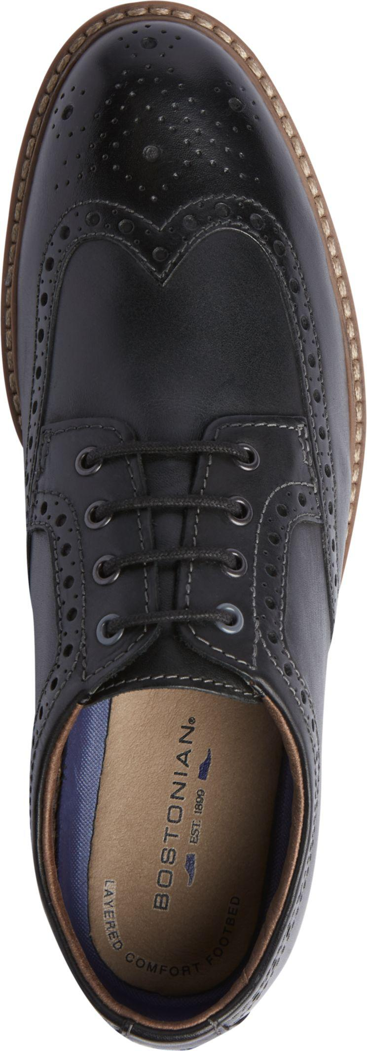 430ed1bc7b Lyst - Jos. A. Bank Bostonian Armon Wingtip Oxfords in Black for Men