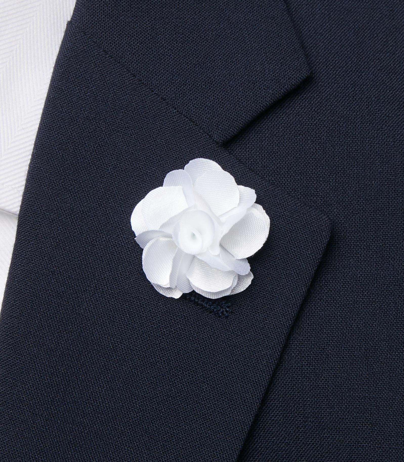 Lyst Jos A Bank Floral Ribbon Lapel Pin In White