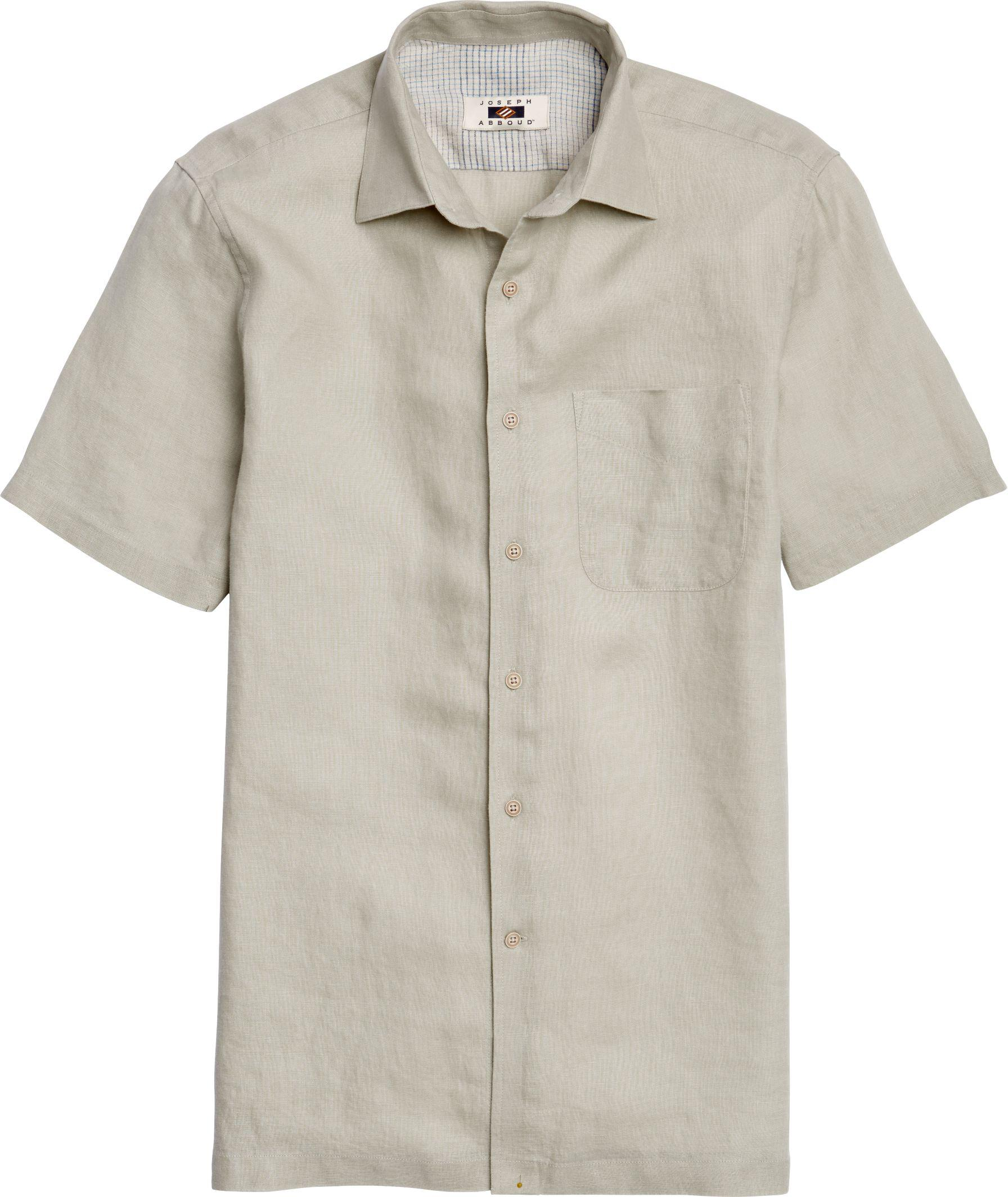 Jos a bank joseph abboud tailored fit short sleeved for Joseph banks dress shirts