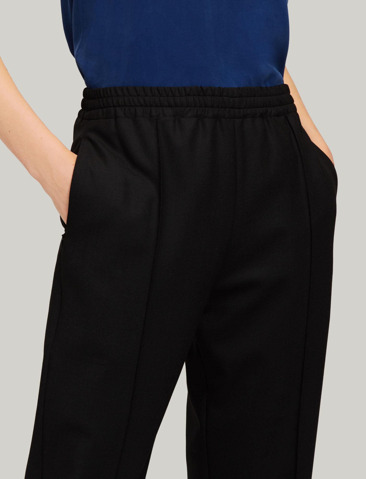 0ca1b8a8dfe Joseph - Black Dalton Comfort Wool Trousers - Lyst. View fullscreen