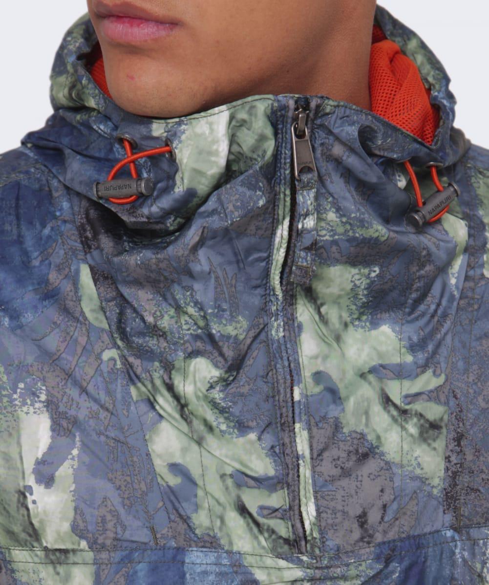 a2a5d5a9a5513 Napapijri Rainforest Fantasy Jacket in Green for Men - Lyst