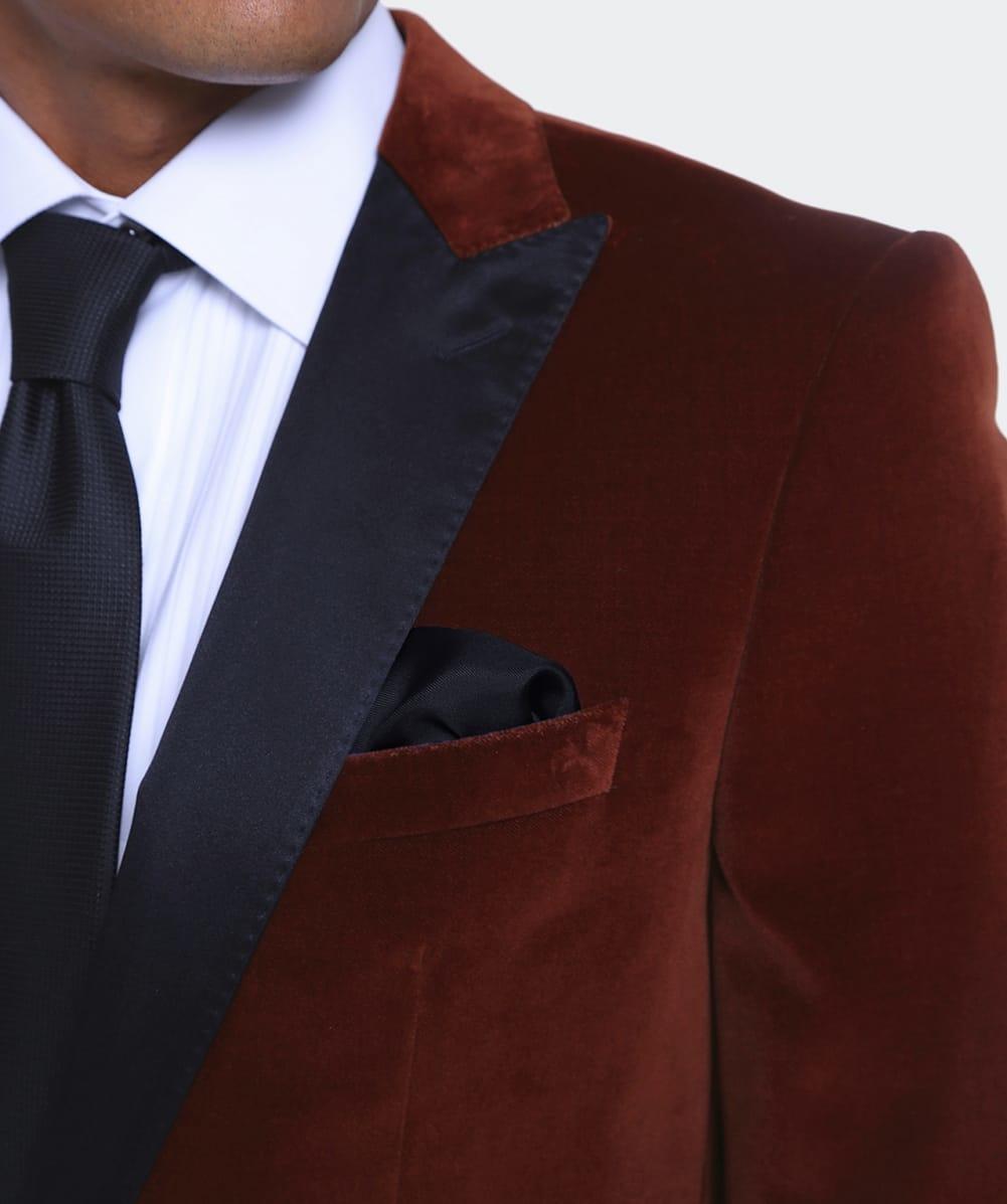 c6f318bcc Lyst - BOSS Black Velvet Haimon Dinner Jacket for Men