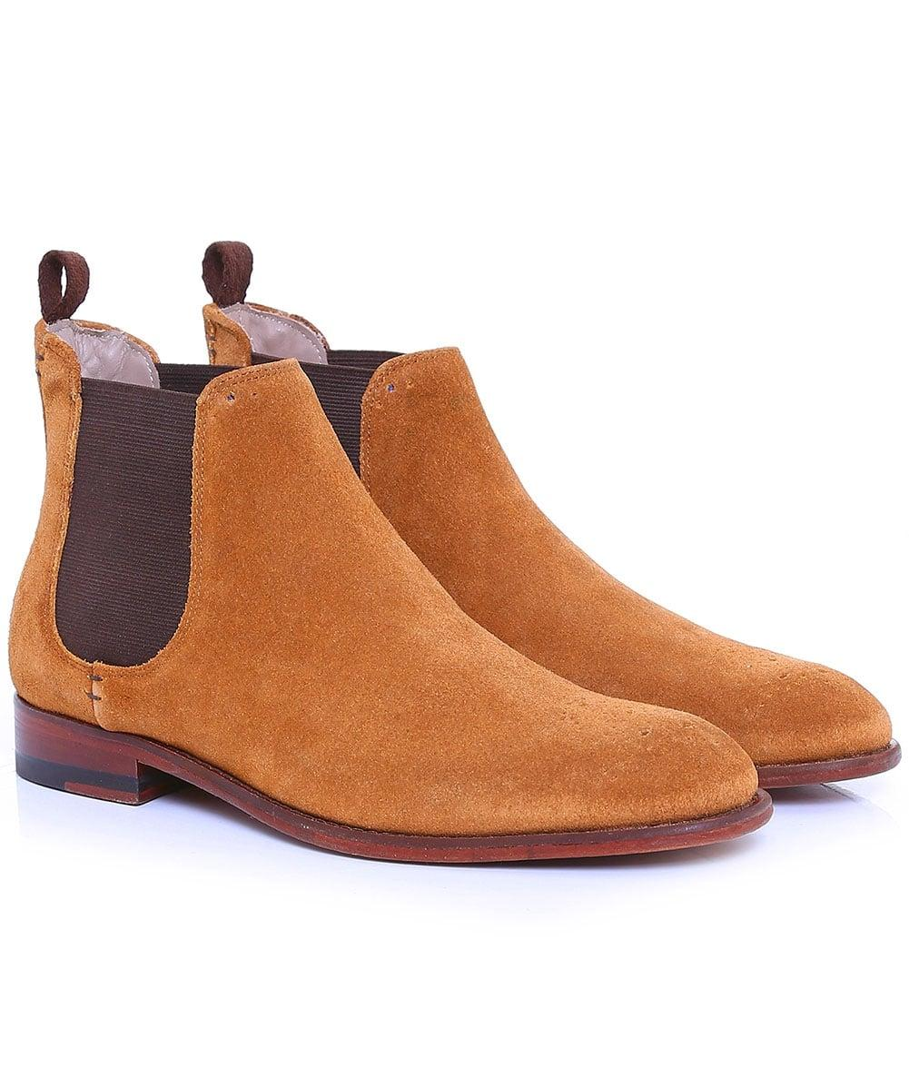 oliver sweeney suede silsden chelsea boots in brown for men lyst. Black Bedroom Furniture Sets. Home Design Ideas