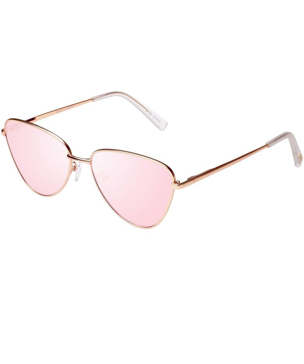 2a7467f8c8b Le Specs Echo Sunglasses in Pink - Save 20.3125% - Lyst