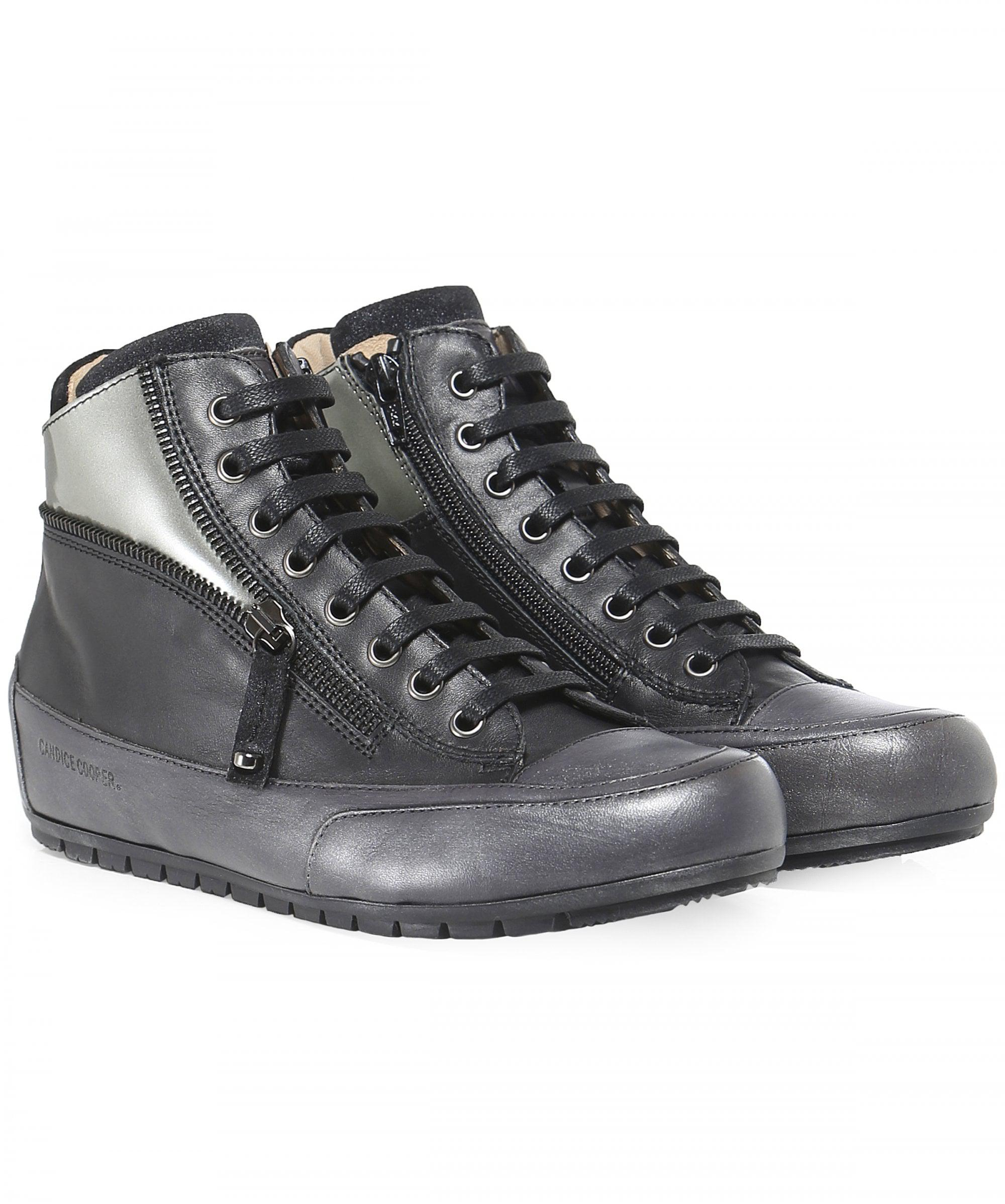 d1bc0735900d4 Candice Cooper Beverly High Top Trainers in Black - Save ...