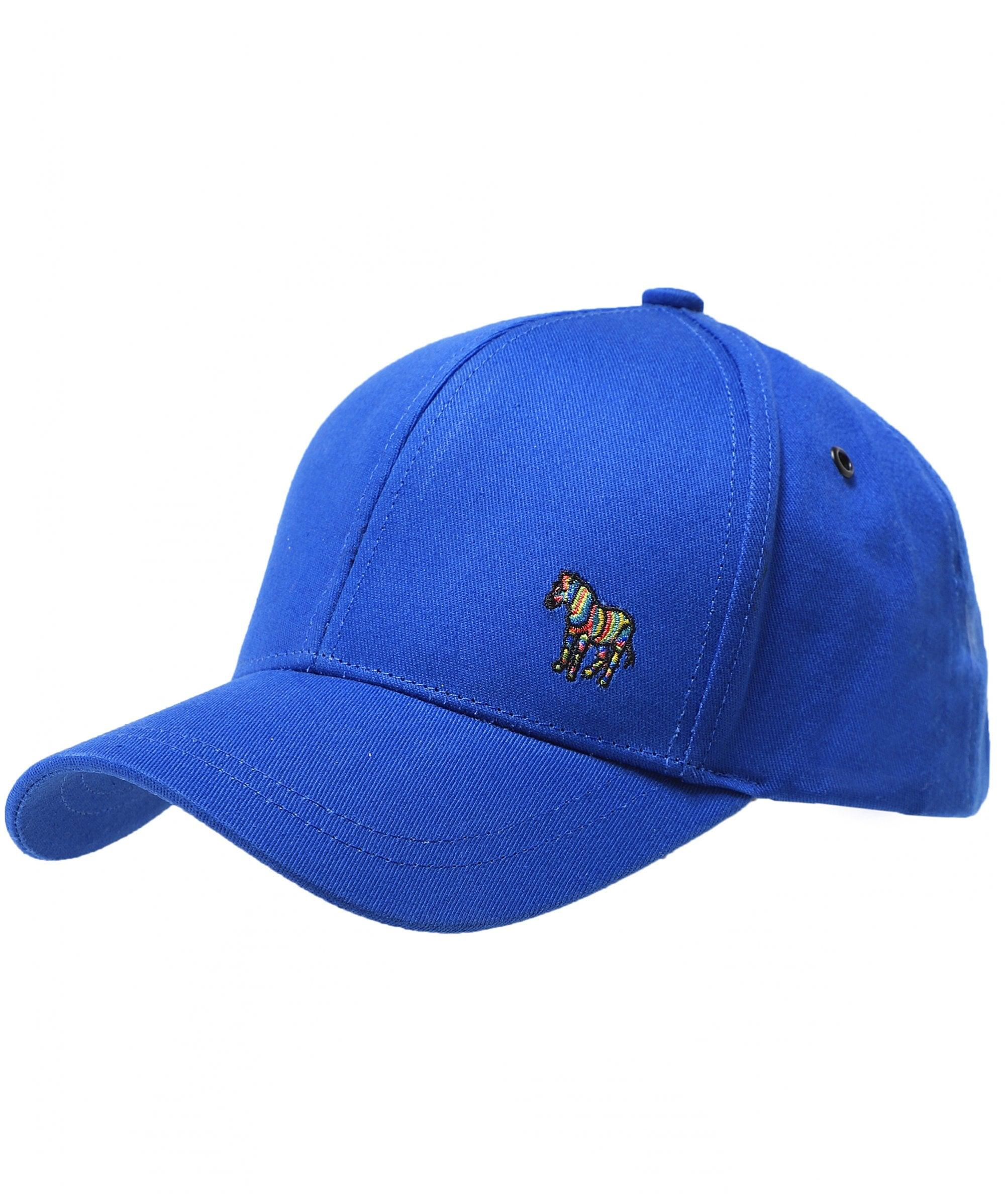 c36f7e81b21 Lyst - Ps By Paul Smith Cotton Zebra Logo Baseball Cap in Blue for Men