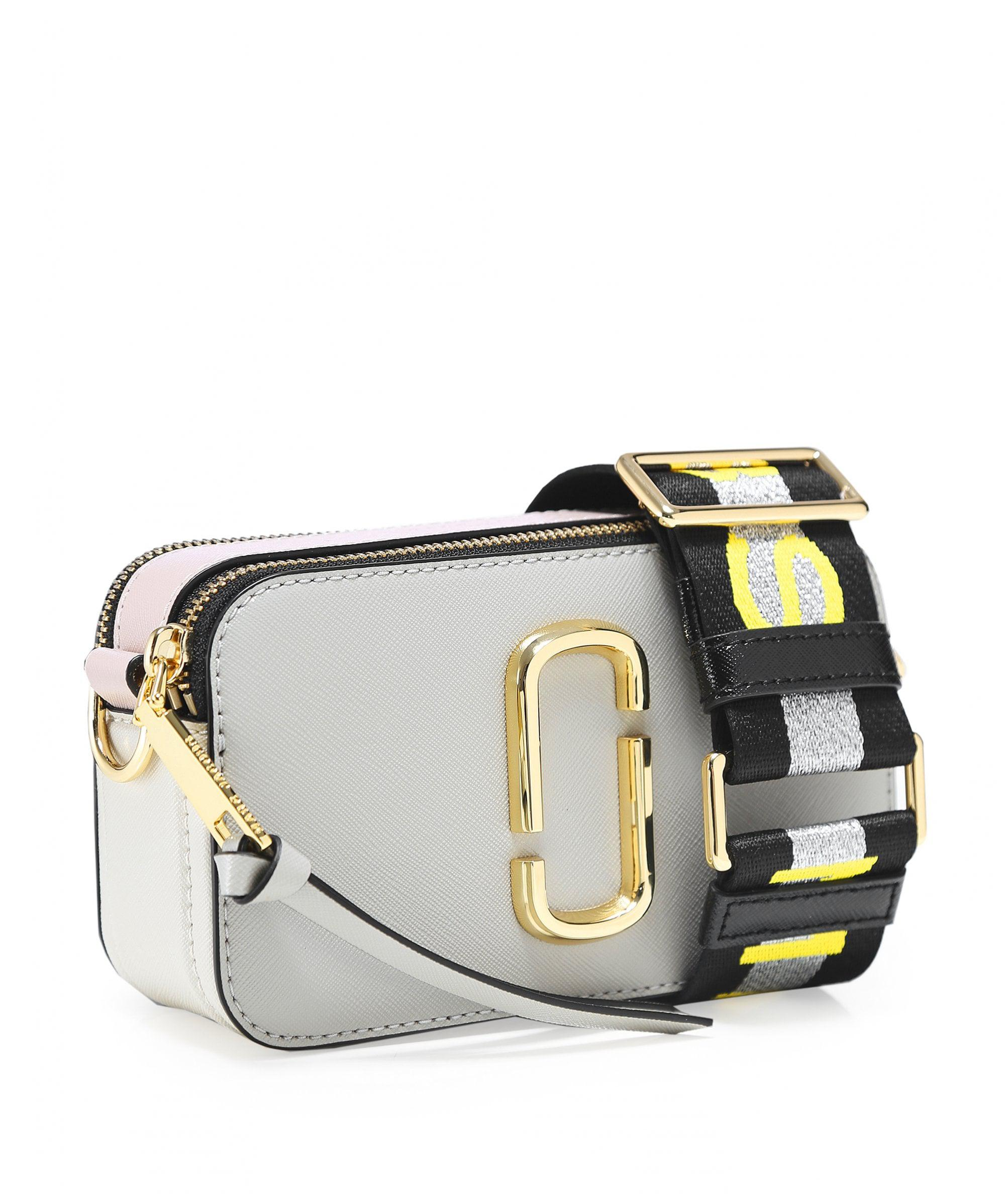 Marc Jacobs Small Snapshot Camera Bag in Gray - Lyst 393a8508376de