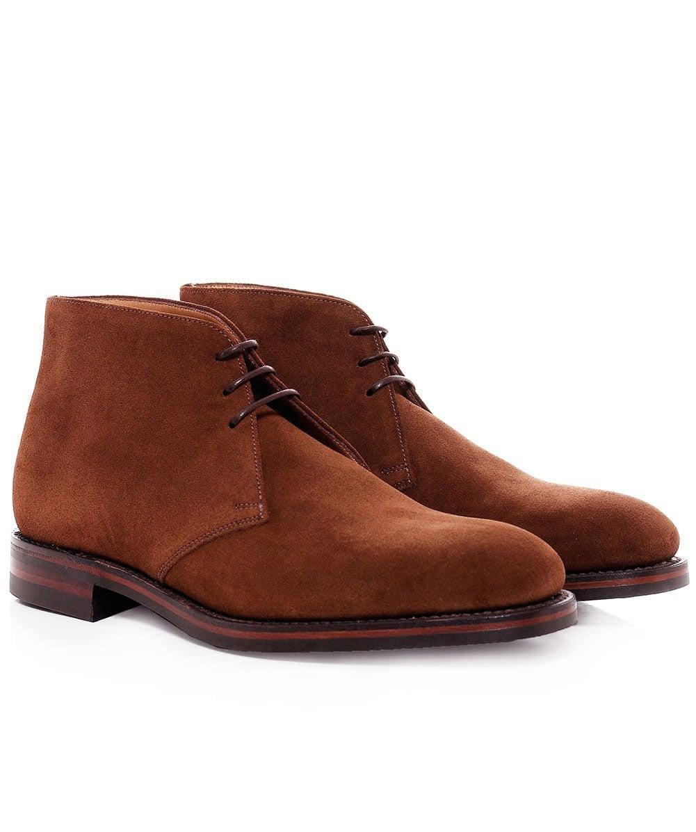 Lyst - Suede Kempton Chukka Boots Loake pour homme en coloris Marron 30e16e40bac