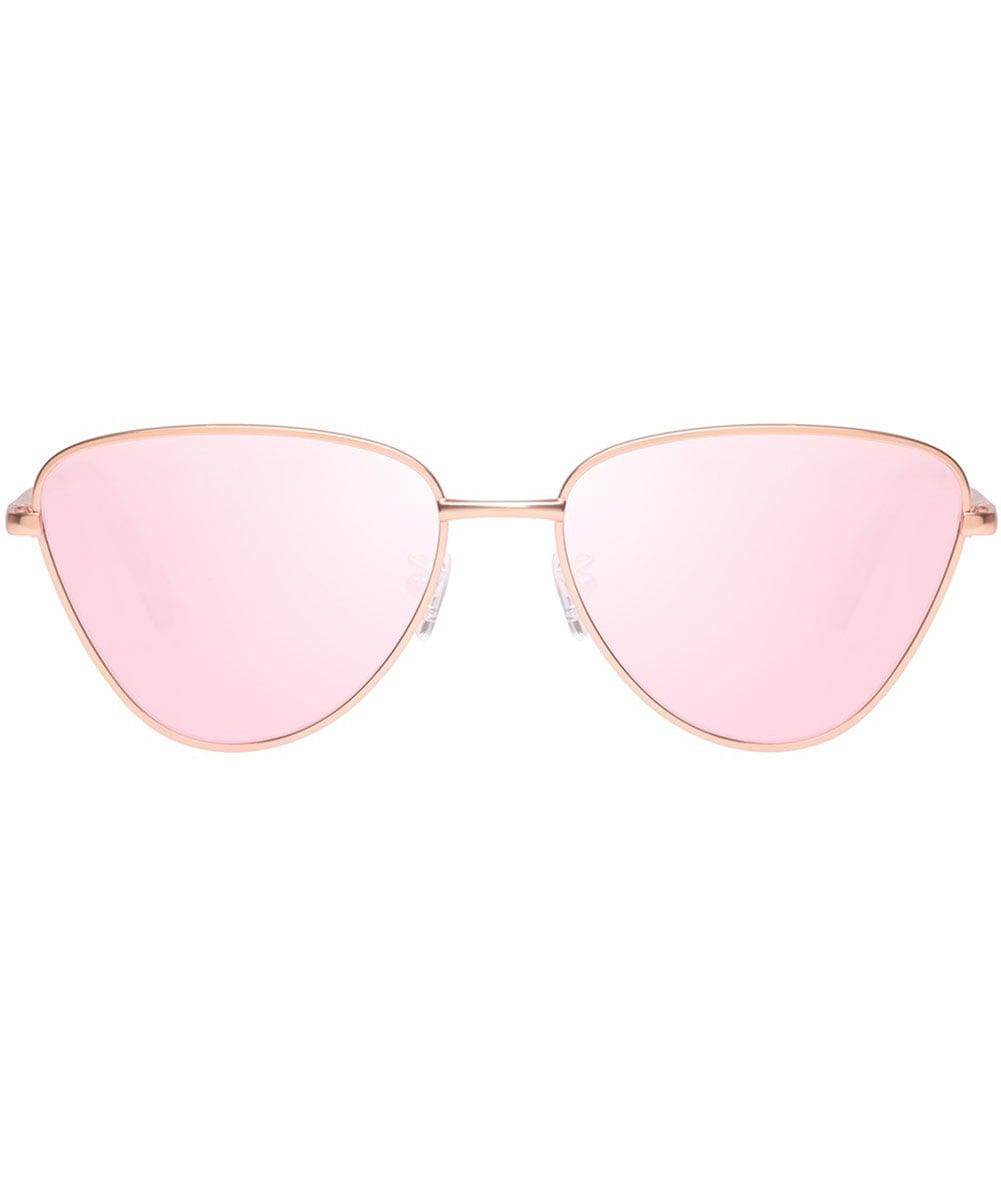 bad43ff509d Lyst - Le Specs Echo Sunglasses in Pink - Save 38.20224719101124%