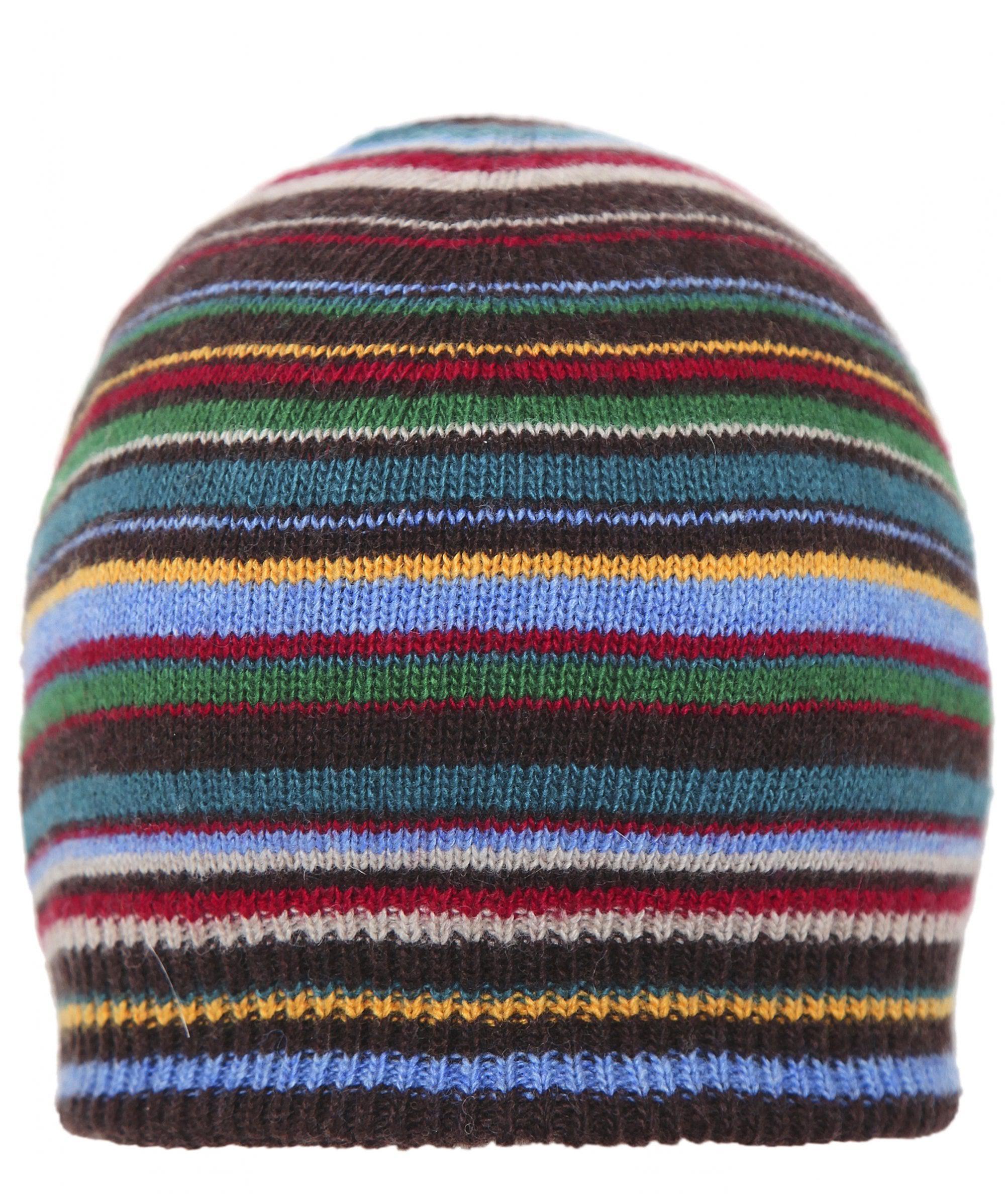 Paul Smith - Blue Cashmere Blend Striped Beanie for Men - Lyst. View  fullscreen fcf53e504d70