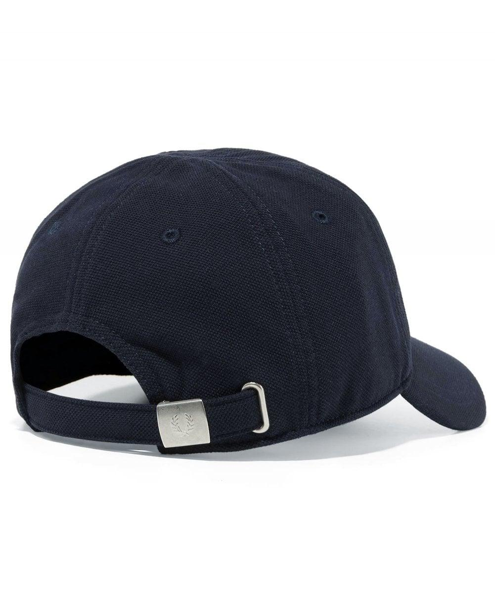 4bffe903a Lyst - Fred Perry Pique Classic Cap in Blue for Men - Save 64%