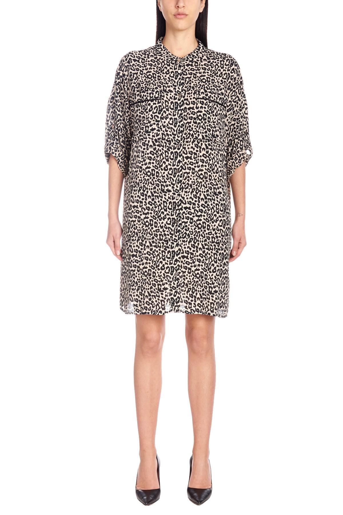 28686ebf23 Liu Jo - Multicolor Animalier Dress - Lyst. View fullscreen