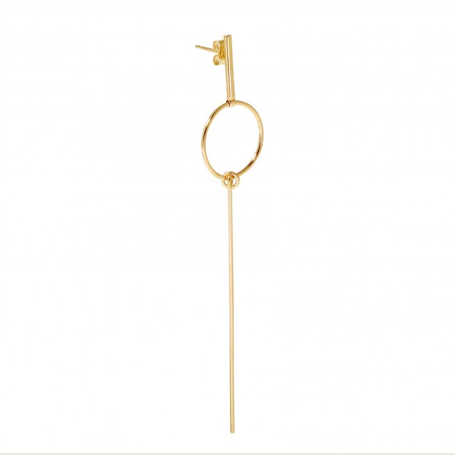 Sarah and sebastian wand earring in metallic lyst for Wand metallic