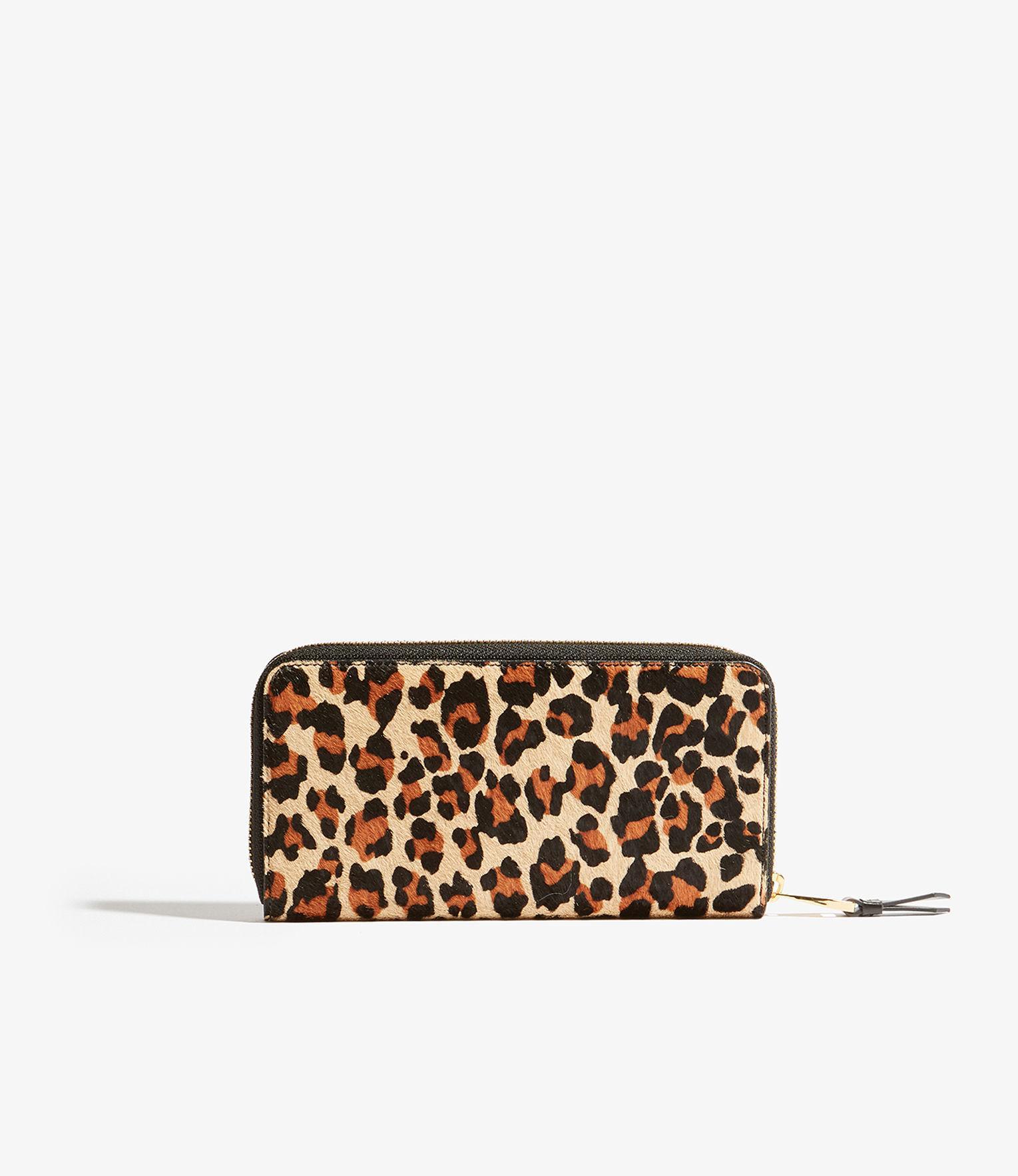 c05a2cec53e Karen Millen Leopard Full-zip Purse - Lyst