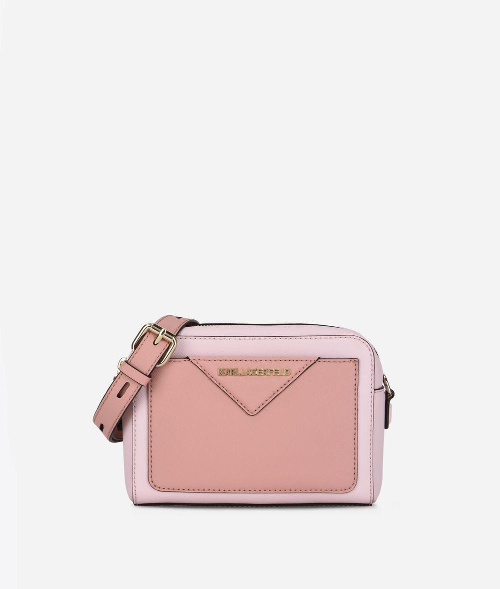 9d004c36e380 Lyst - Karl Lagerfeld K klassik Camera Bag in Pink