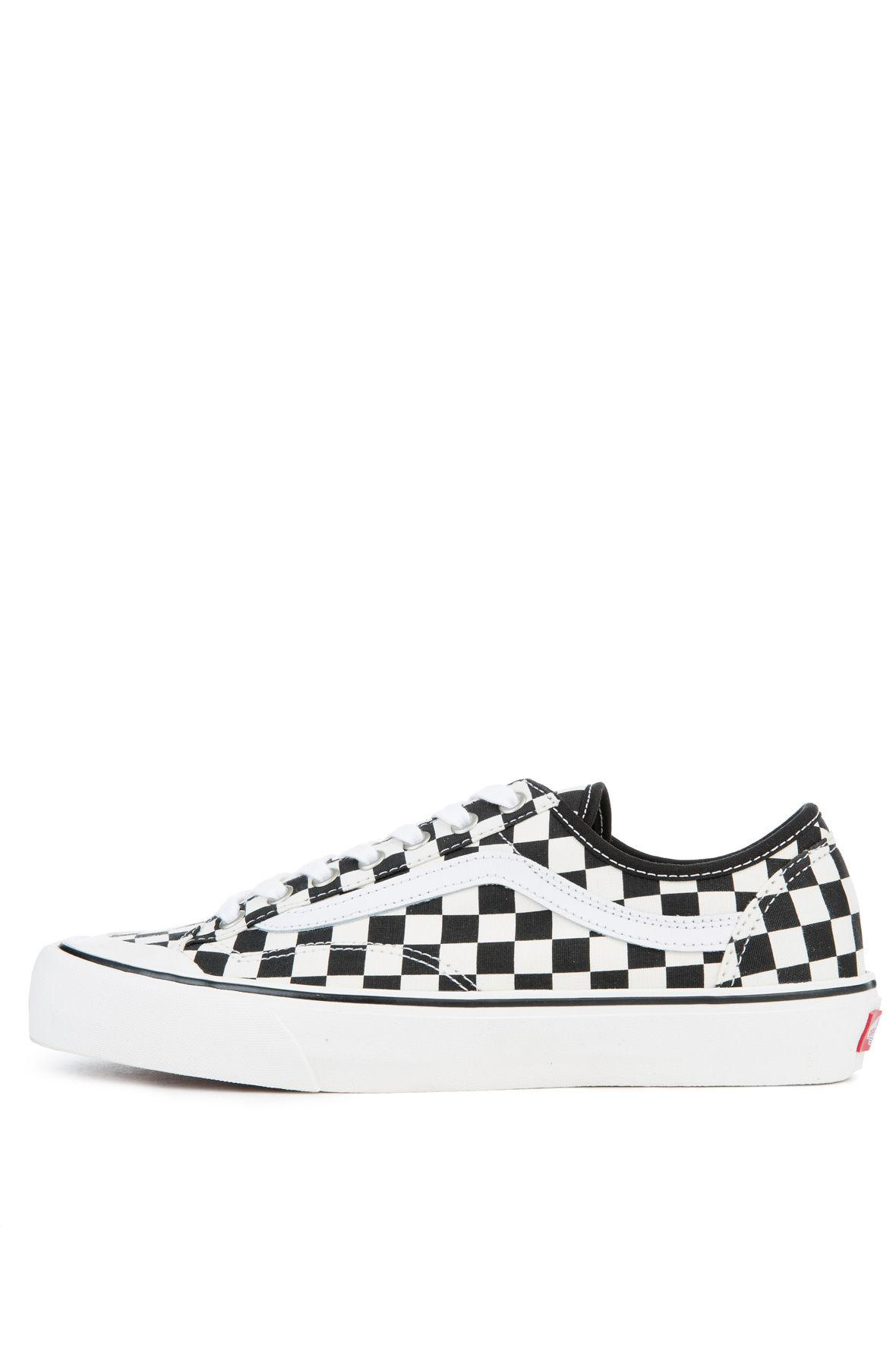 2d8c9a30b6 Lyst - Vans The Men s Style 36 Decon Sf Checkerboard In Black And ...
