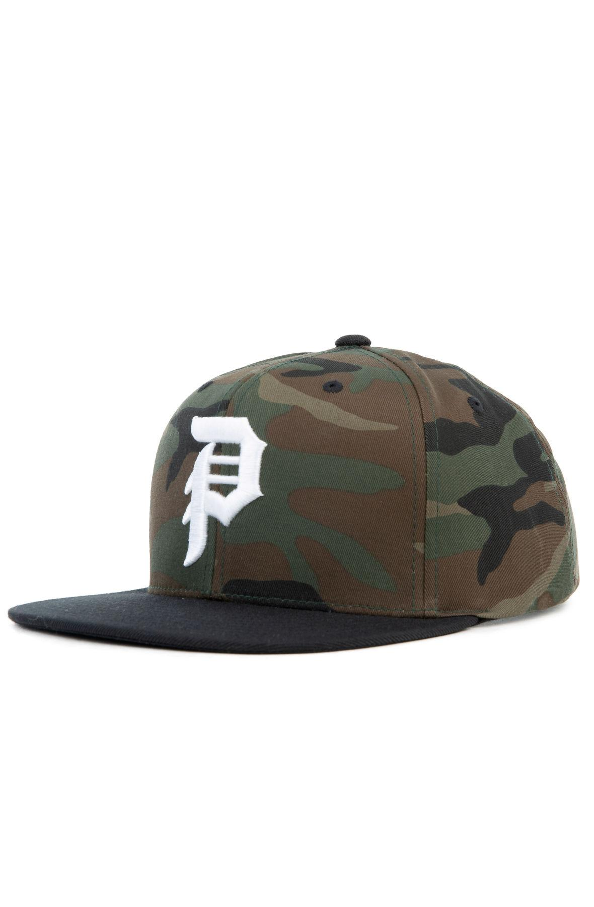 ad1bd91e2 Lyst - Primitive The Dirty P Snapback In Camo in Green for Men