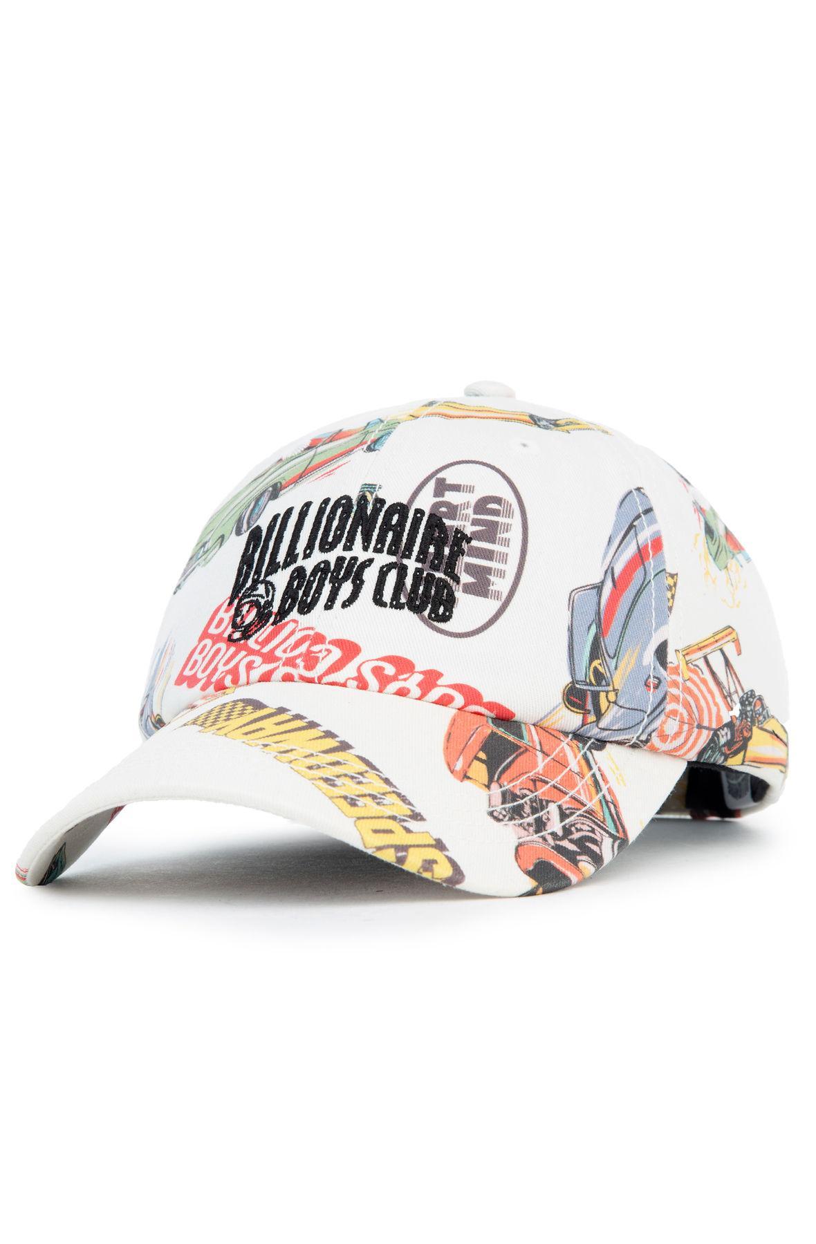 Lyst - BBCICECREAM The Bb Driver Hat In Snow White in White for Men fdc6a0e7b388