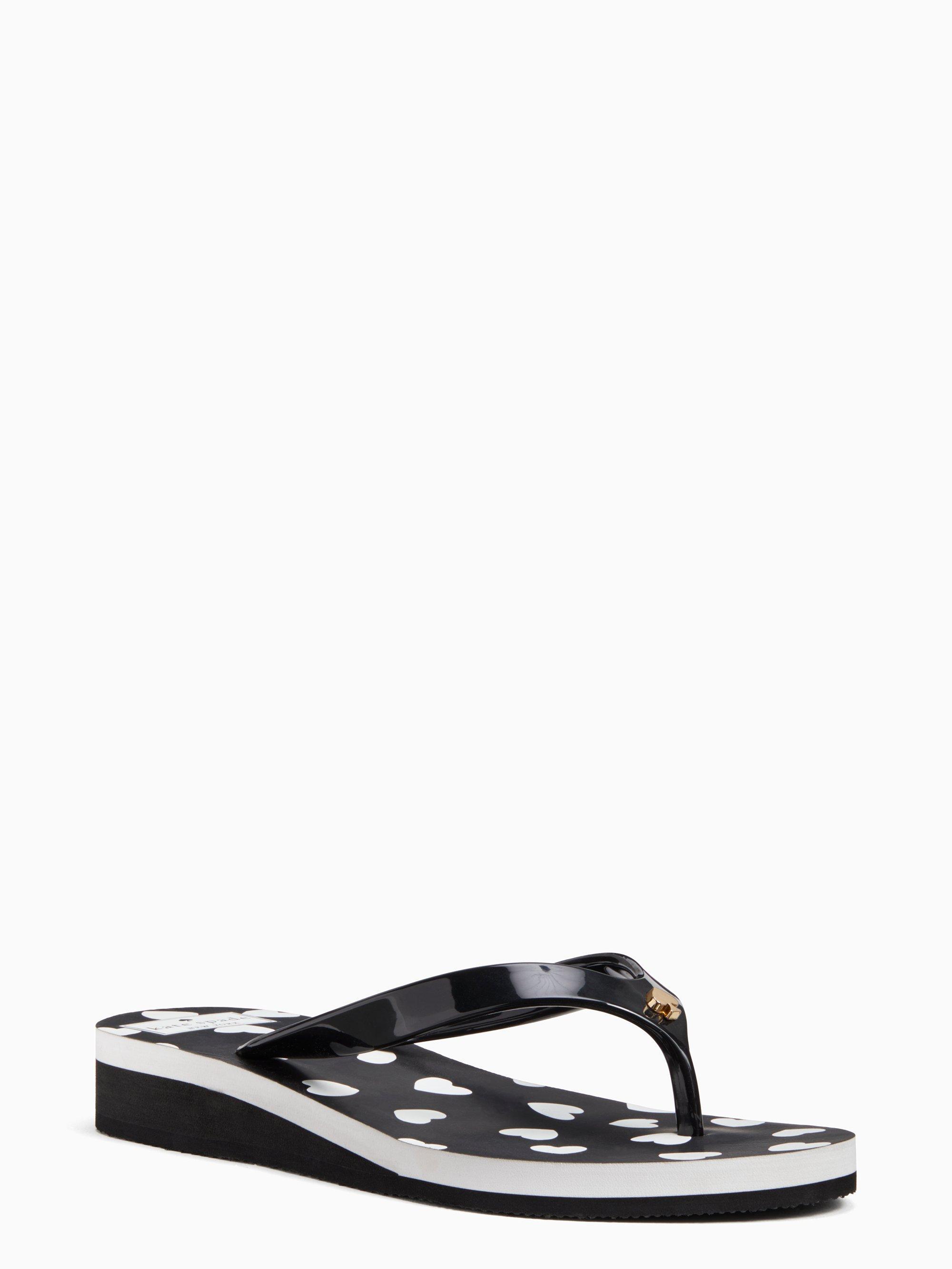 cc0b1b60ca5c Kate Spade. Women s Black Milli Flip-flop Sandals.  48 From kate spade new  york
